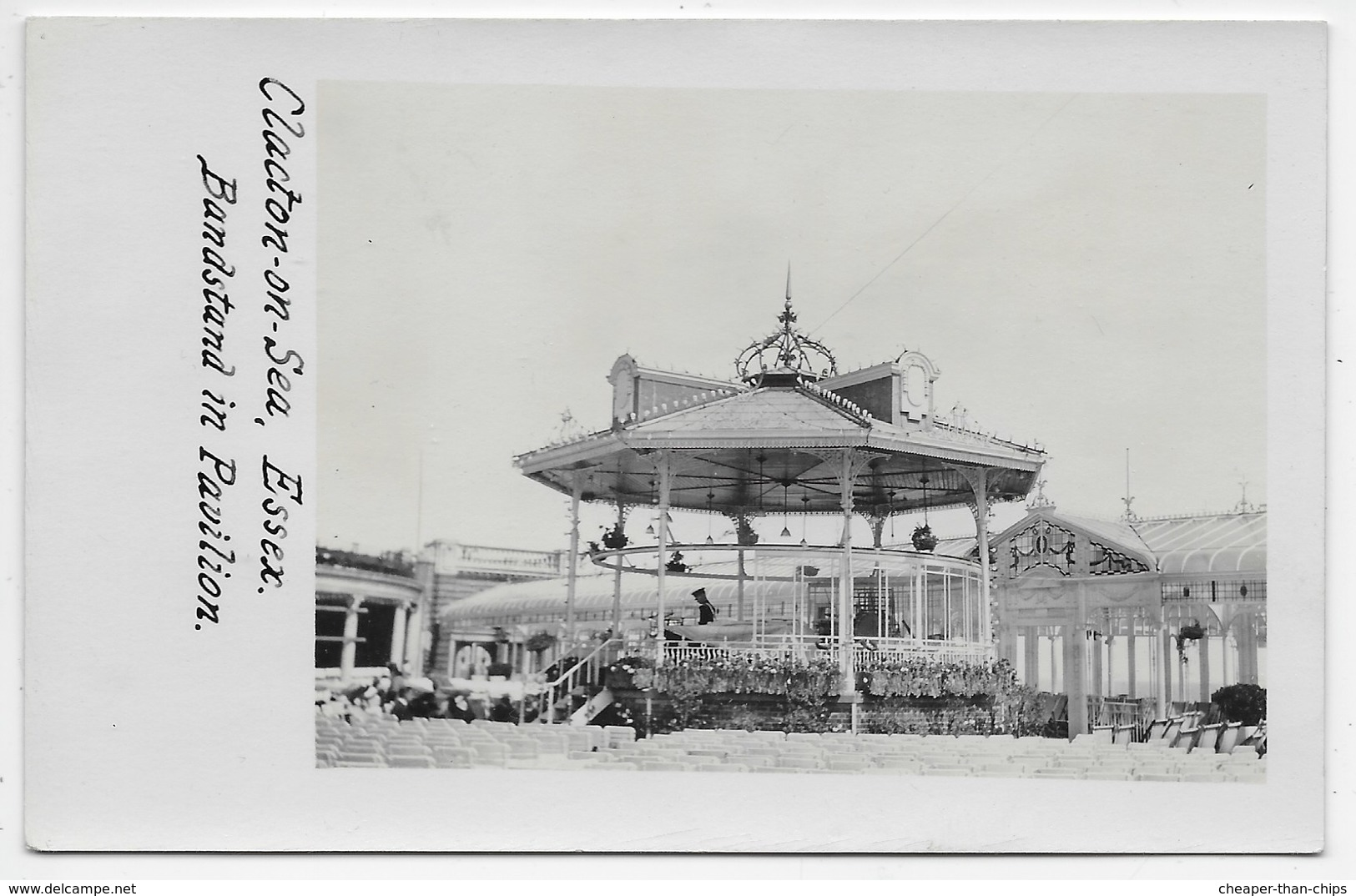 Clacton-on-Sea - Bandstand In Pavilion - Clacton On Sea