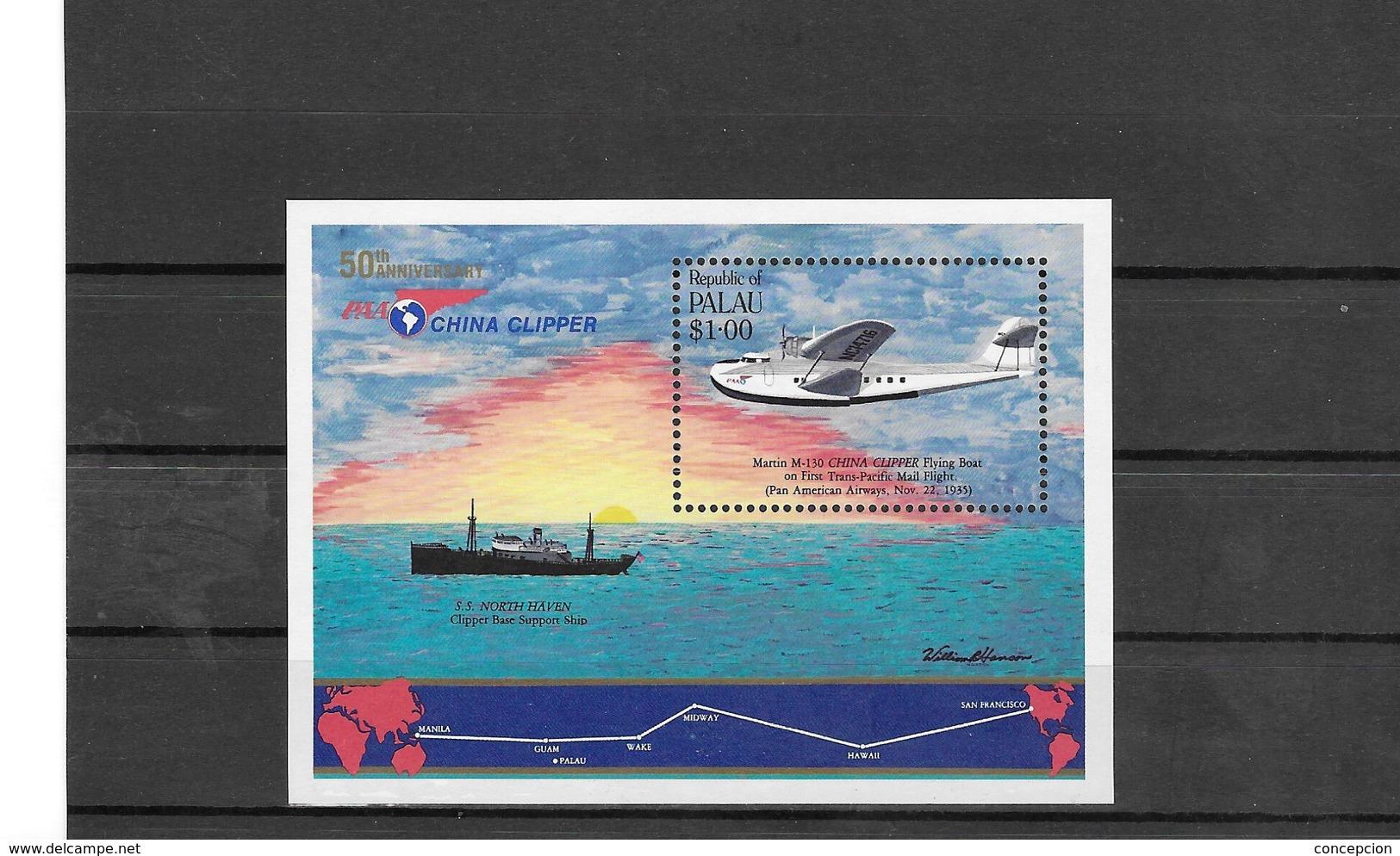 PALAU Nº HB 1 - Correo Postal