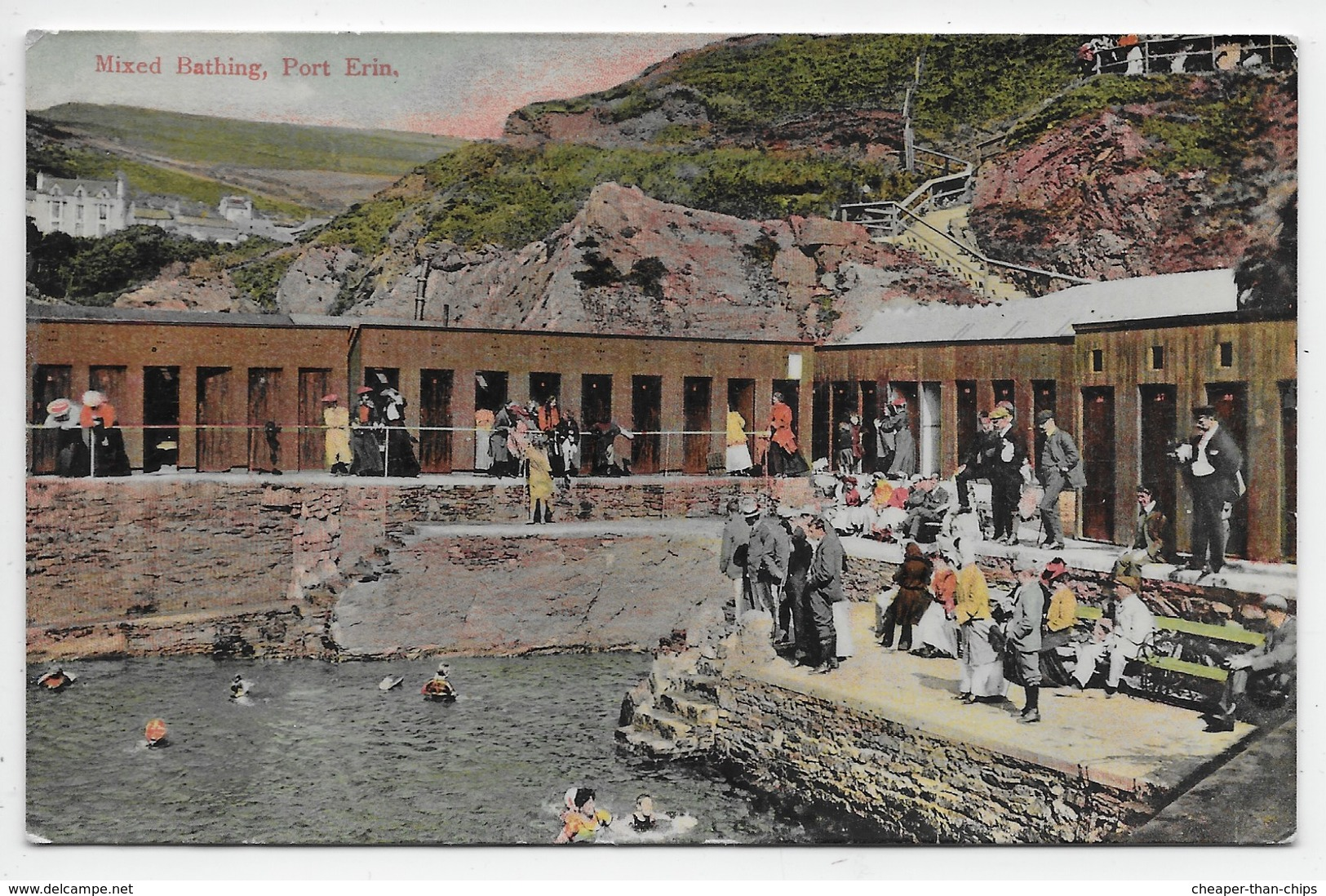 Port Erin - Mixed Bathing - Grosvenor 498 - Isle Of Man