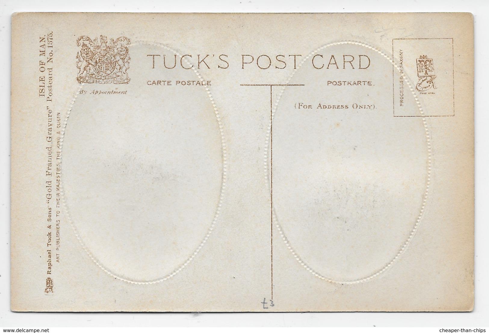 Tower Of Refuge/Port Soderick, I.O.M. - Tuck 1375 - Isle Of Man