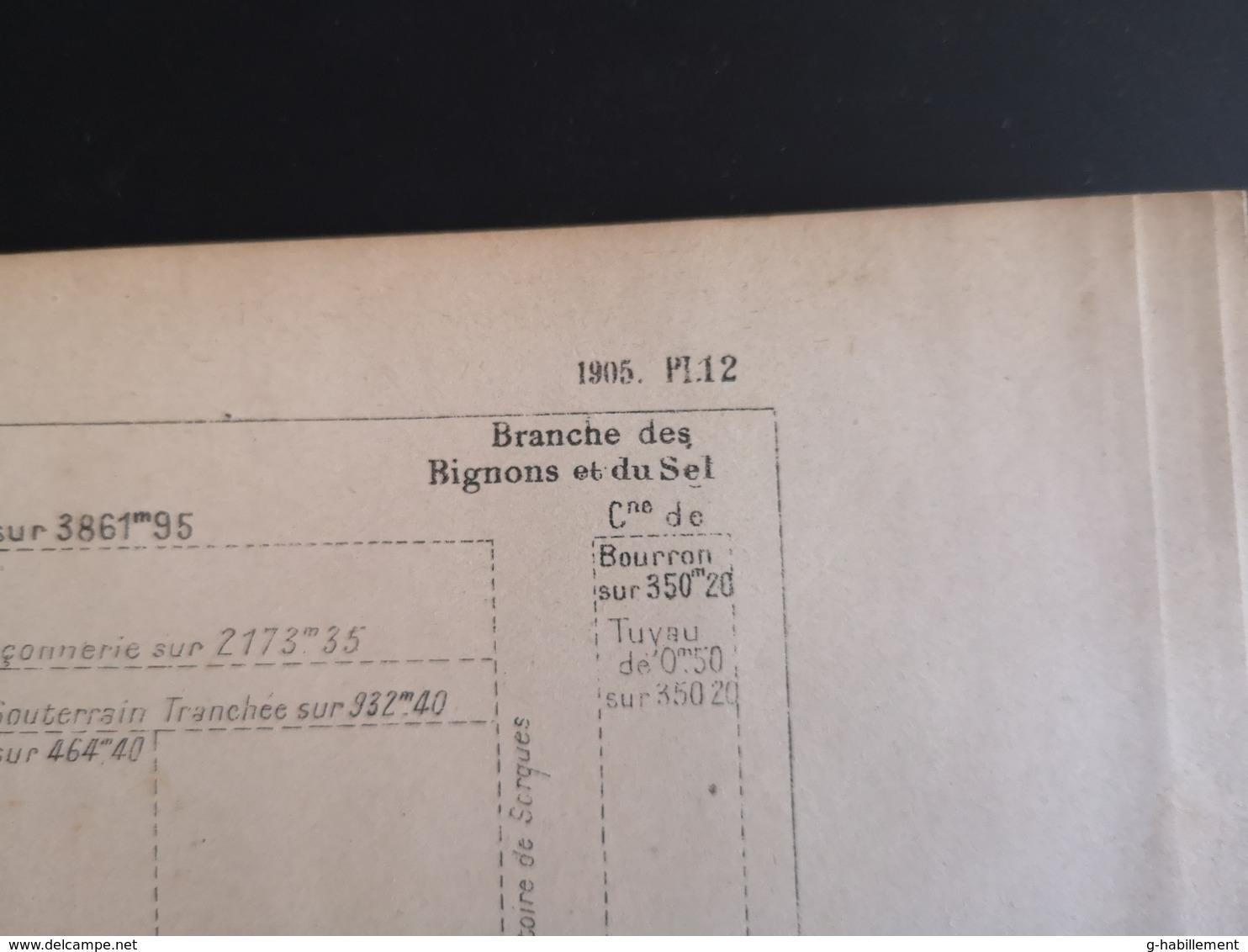 ANNALES DES PONTS Et CHAUSSEES (DEP 77) - Dérivation Du Loing Et Du Lunain - 1905 (CLF71) - Travaux Publics