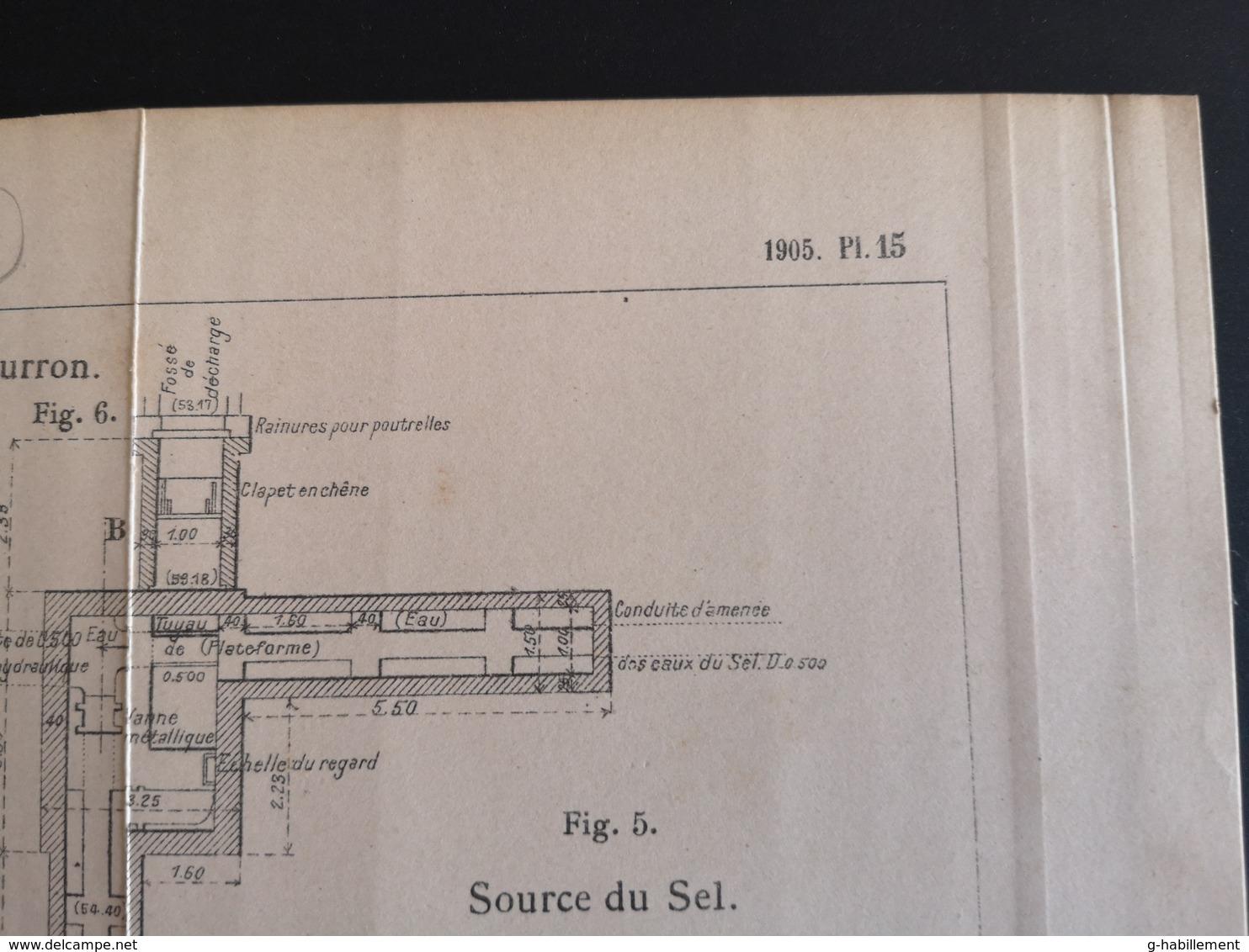 ANNALES DES PONTS Et CHAUSSEES (DEP 77) - Dérivation Du Loing Et Du Lunain - 1905 (CLF74) - Travaux Publics
