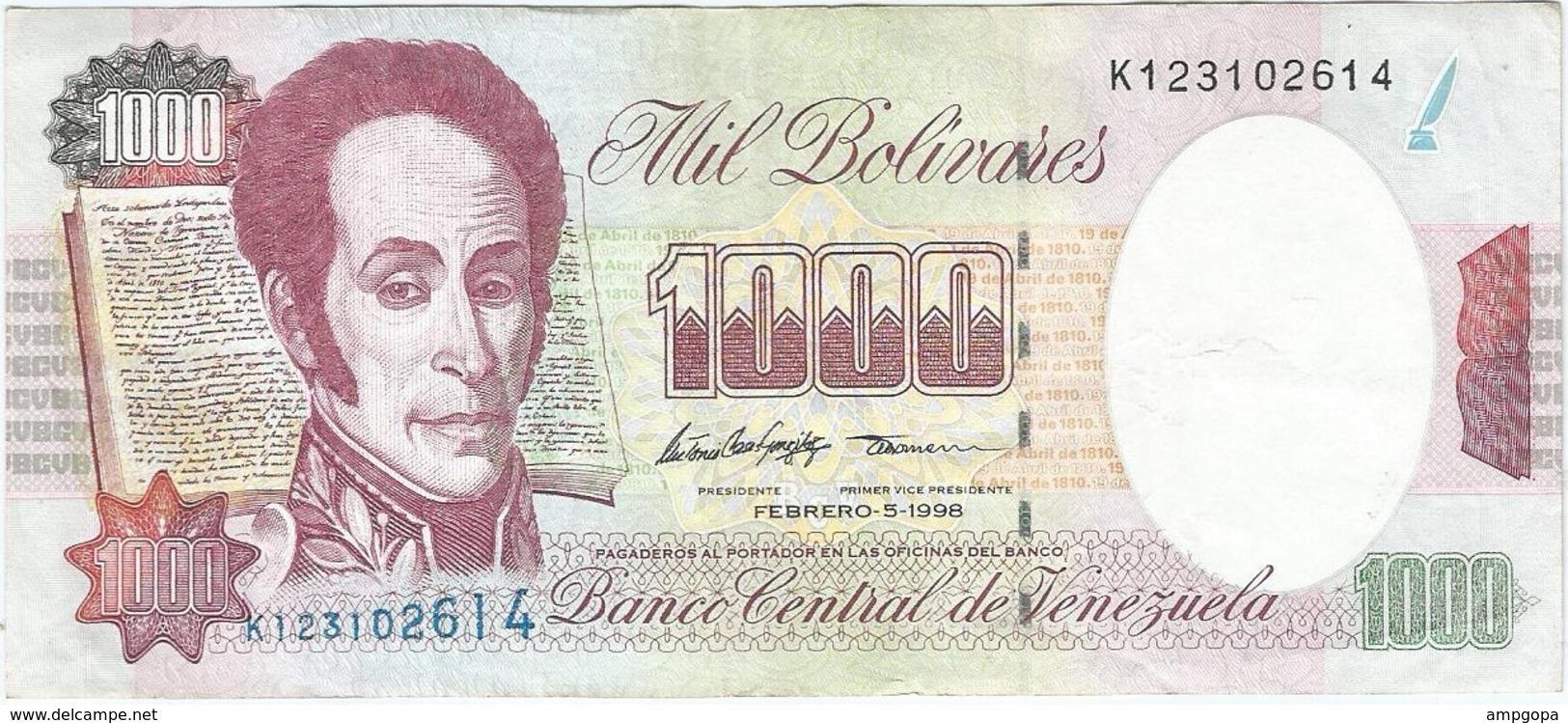 Venezuela 1000 Bolívares 5-2-1998 Pk 76 C Ref 12 - Venezuela