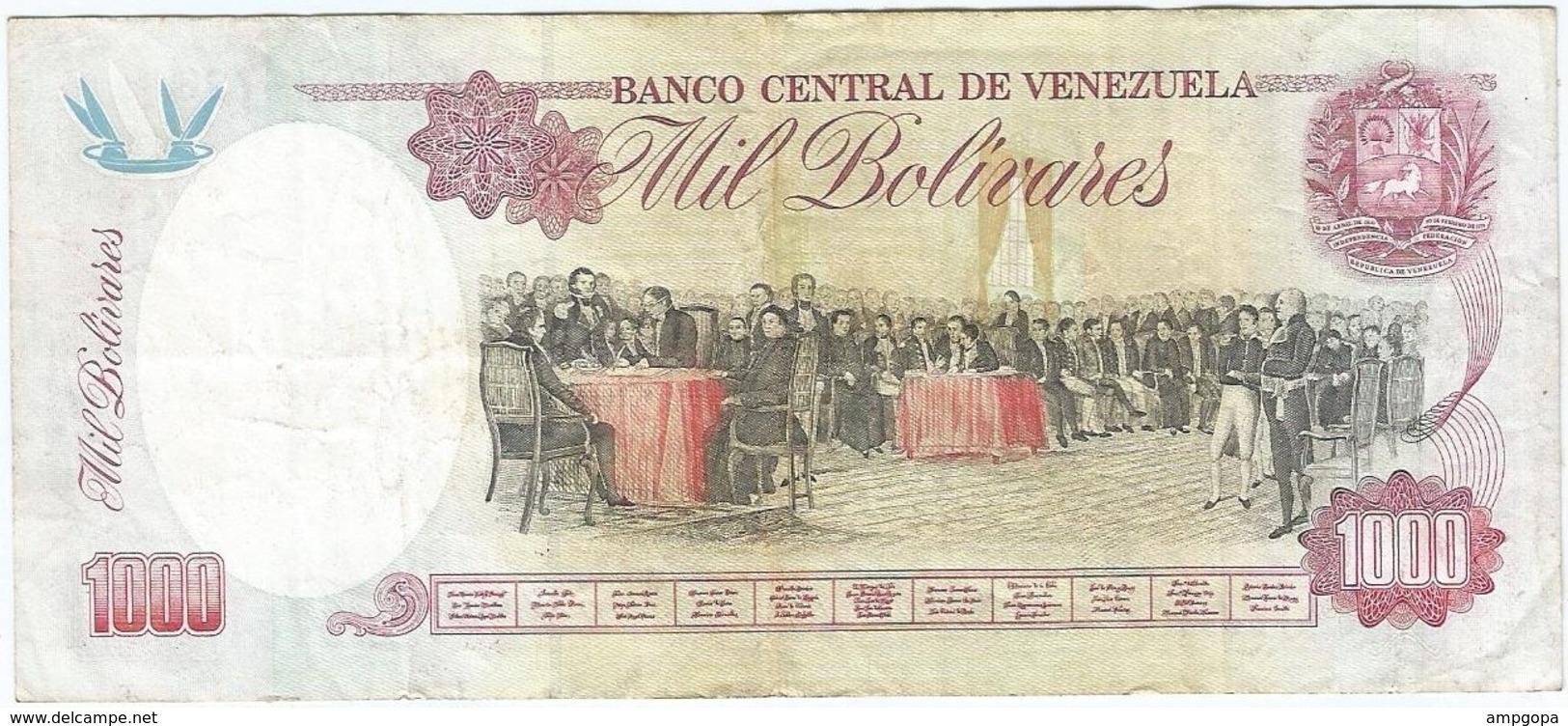 Venezuela 1000 Bolívares 5-2-1998 Pk 76 C Ref 13 - Venezuela