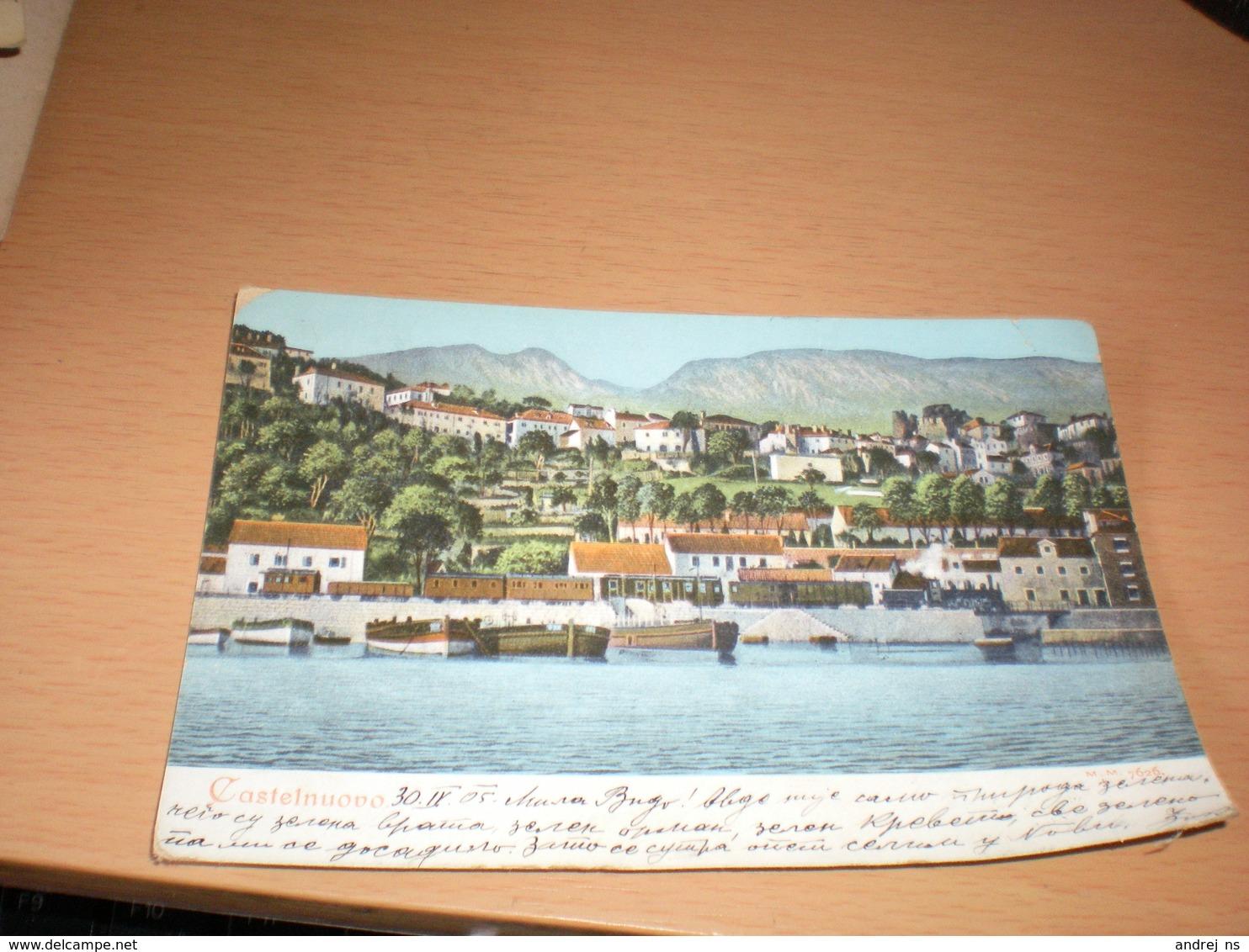 Castelnuovo 1905 - Montenegro