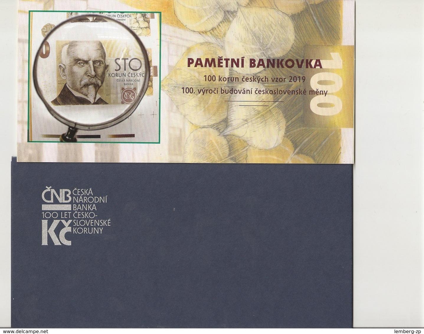 Czech Republic - 100 Korun 2019 UNC Big Commemorative Lemberg-Zp - Tchéquie