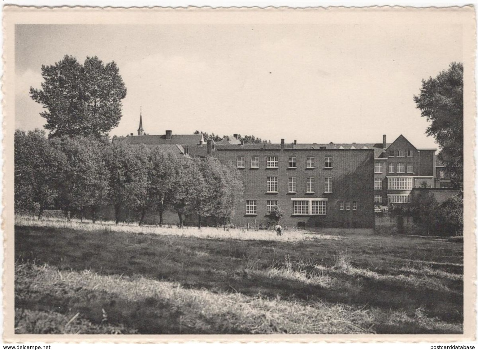 Velzeke - Ruddershove - Gesticht St Franciscus Grauwzusters Penitenten - Algemeen Zicht - & Hospital - Zottegem