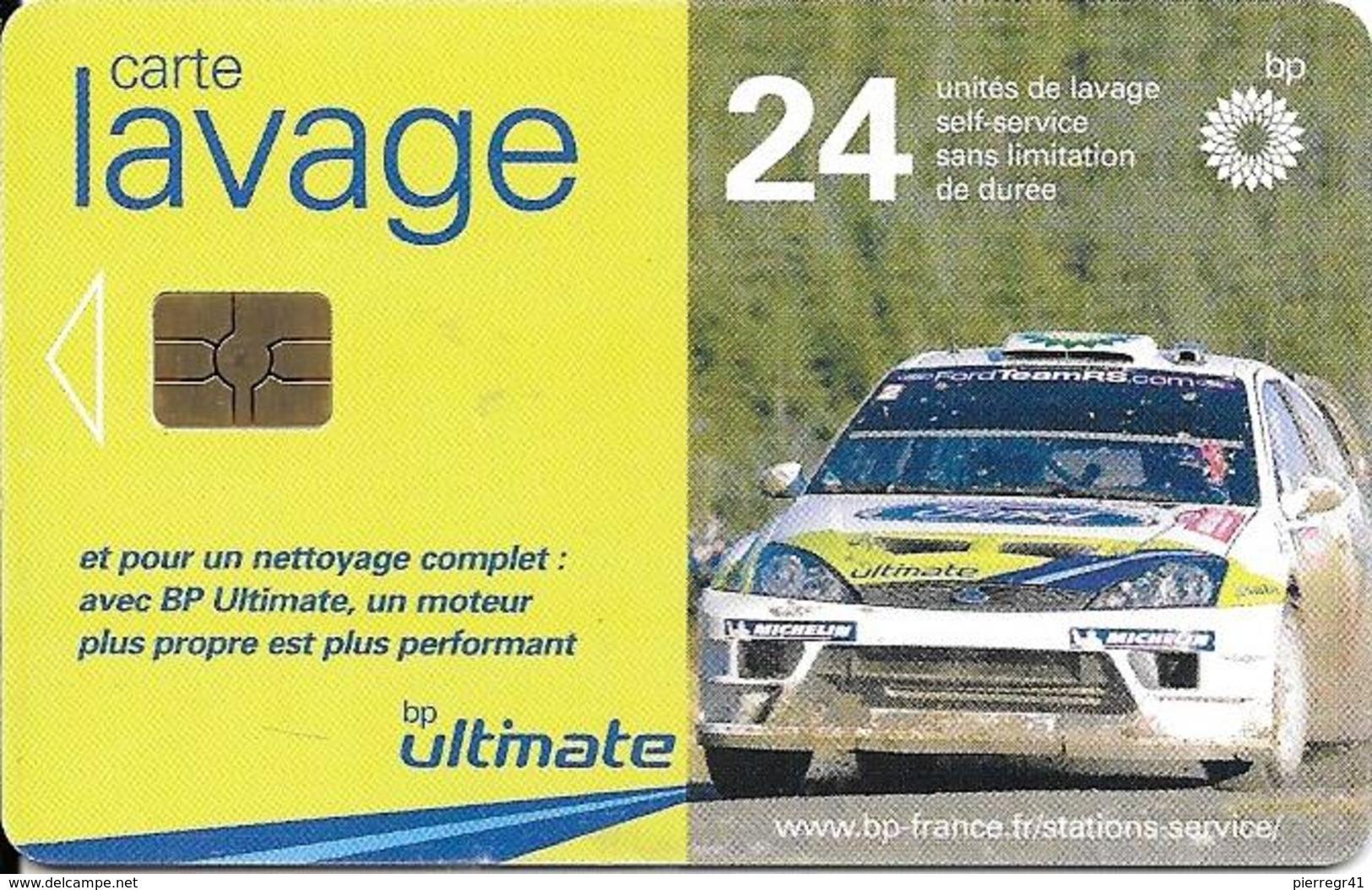 CARTE-PUCE-GEM 6--LAVAGE-BP-24-UNITES-VOITURE RALLYE-BE - France