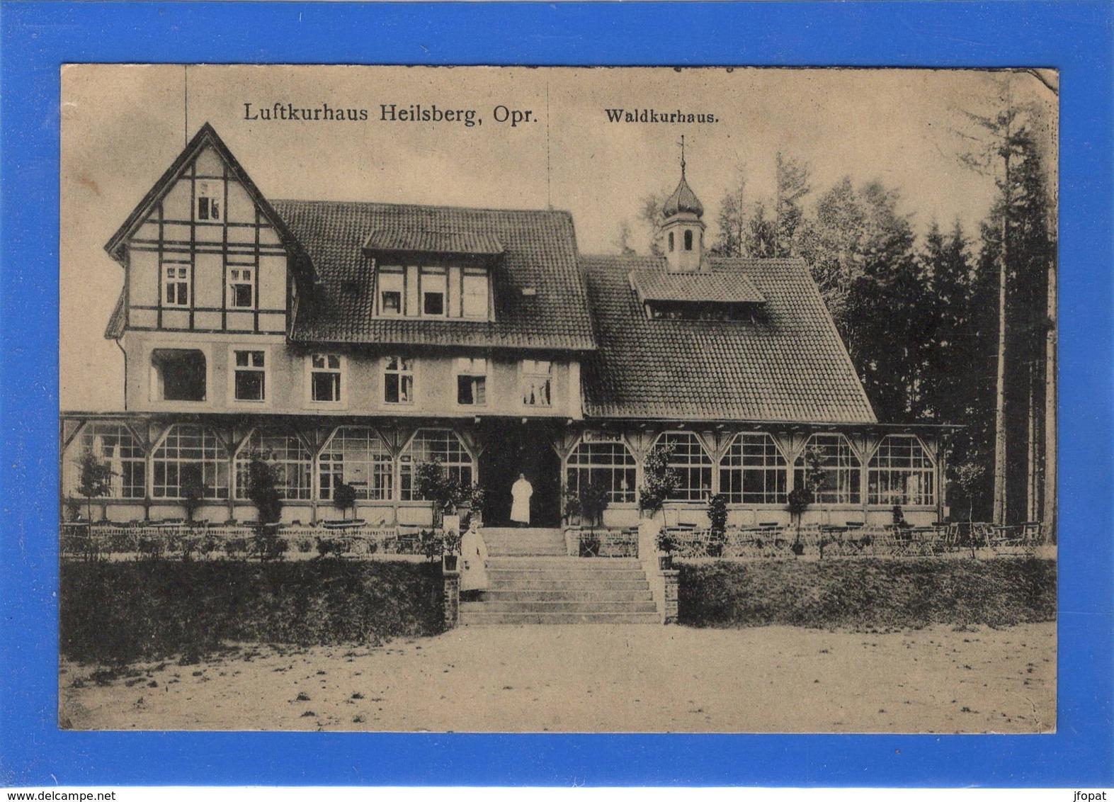 POLOGNE - HEILSBERG Waldkurhaus. (voir Descriptif) - Poland