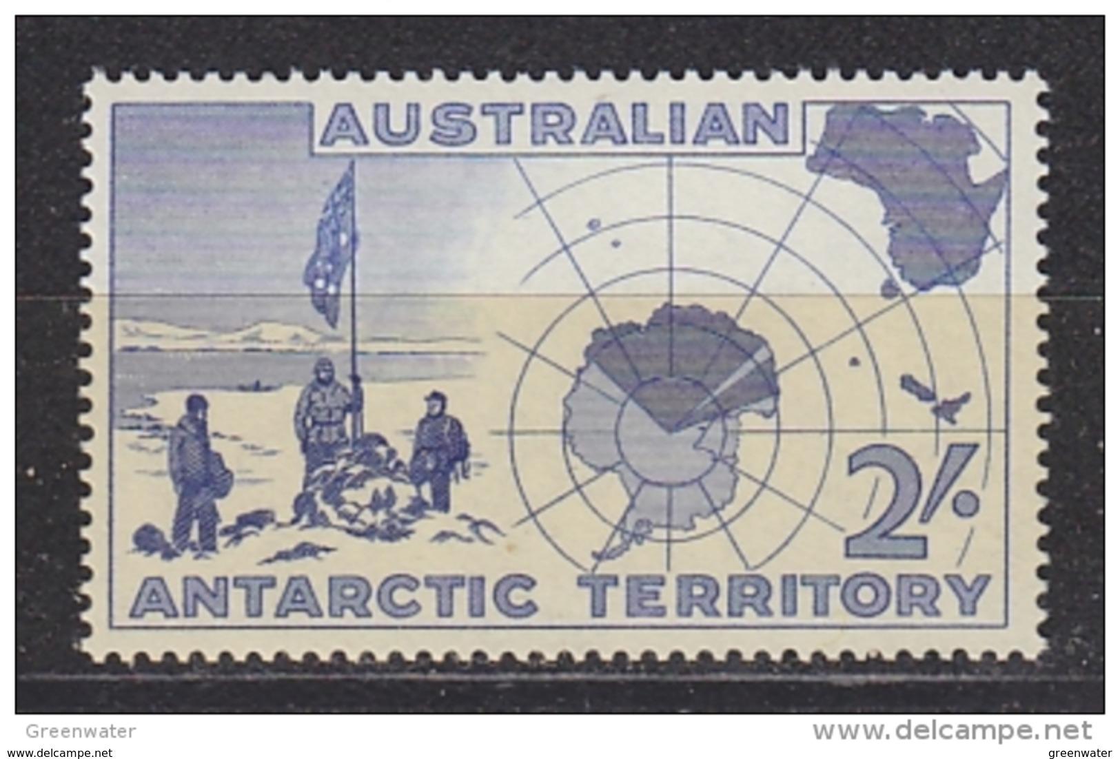 AAT 1957 Discovery Of Antarctica 1v ** Mnh  (42421E) - Australisch Antarctisch Territorium (AAT)