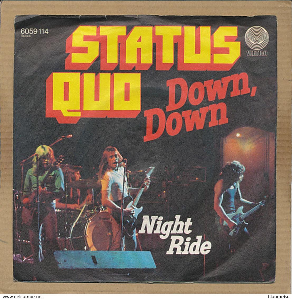 "7"" Single, Status Quo, Down Down - Rock"