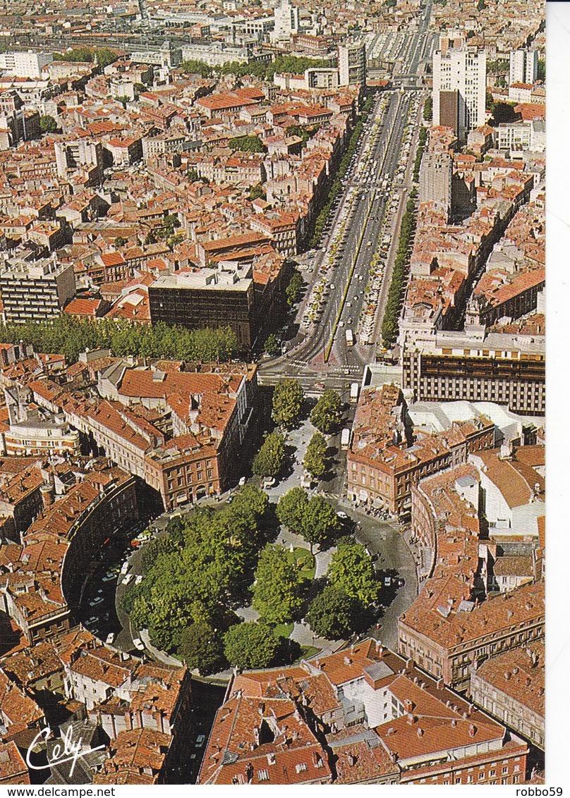 France Toulouse  La Place Wilson Postcard Unused Good Condition - Toulouse