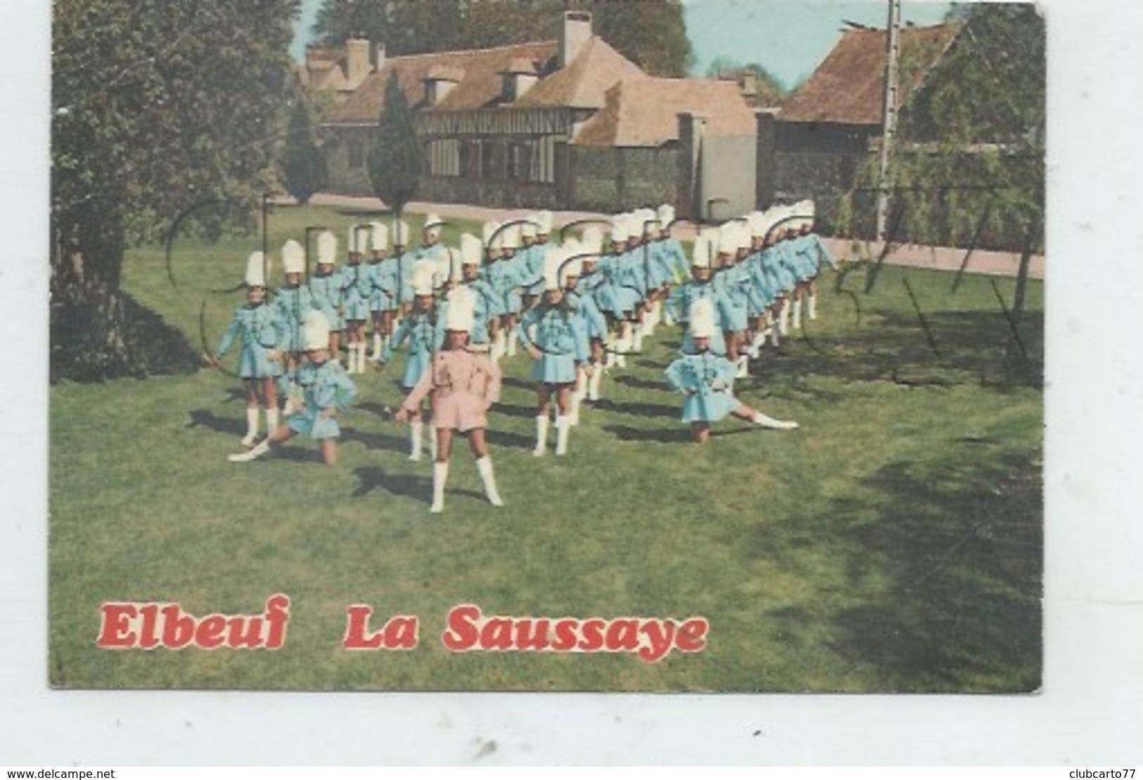 La Saussaye (27) : Vue Des Majorettes D'Elbeuf En 1970 (animé) GF. - France