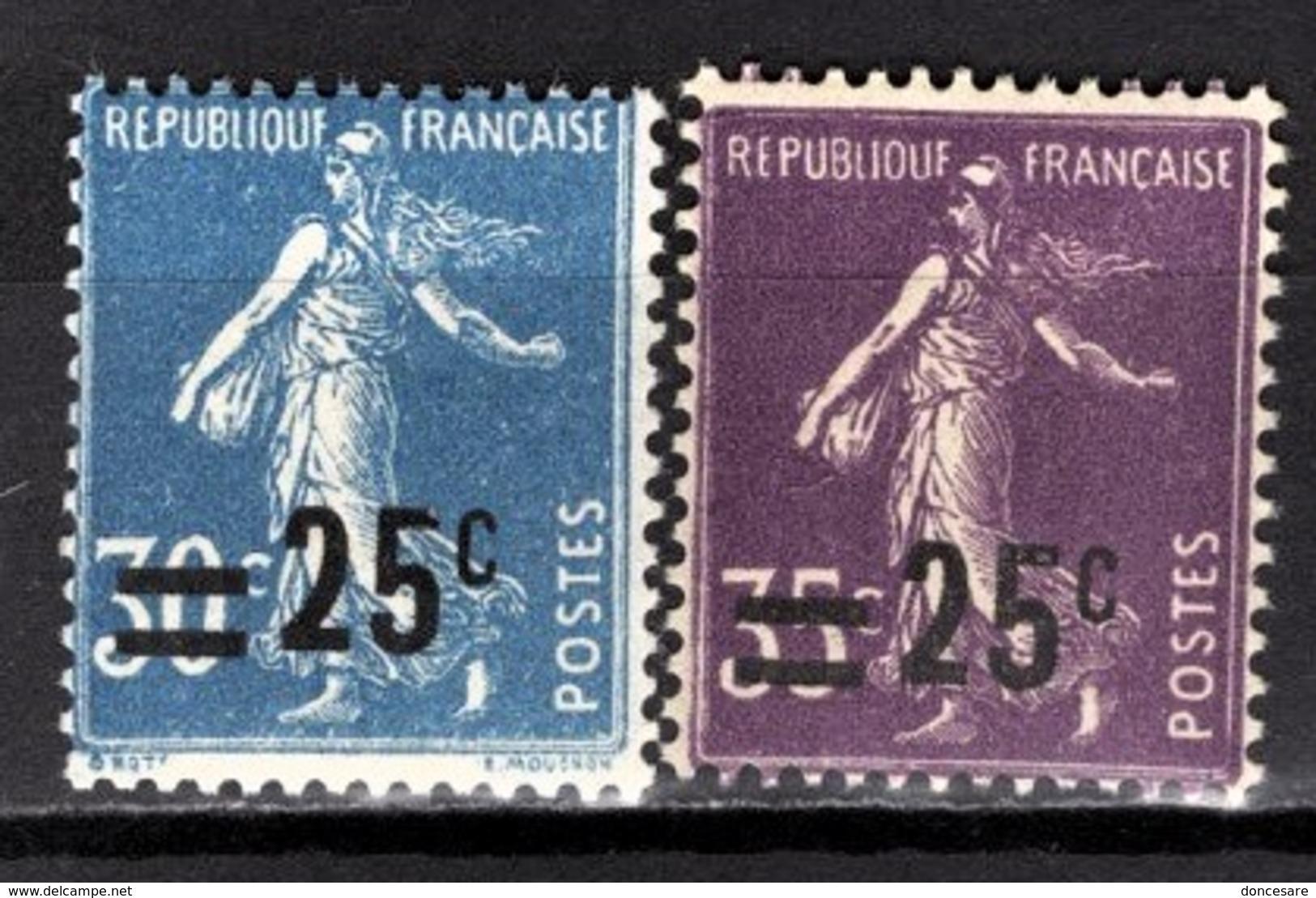 FRANCE 1925/1926 - Y.T. N° 217 ET 218 - NEUFS** - France