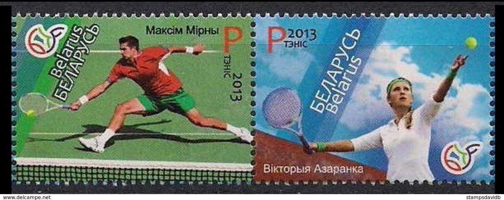2013Belarus967-968Leaders Of Belarus Tennis5,40 € - Tennis