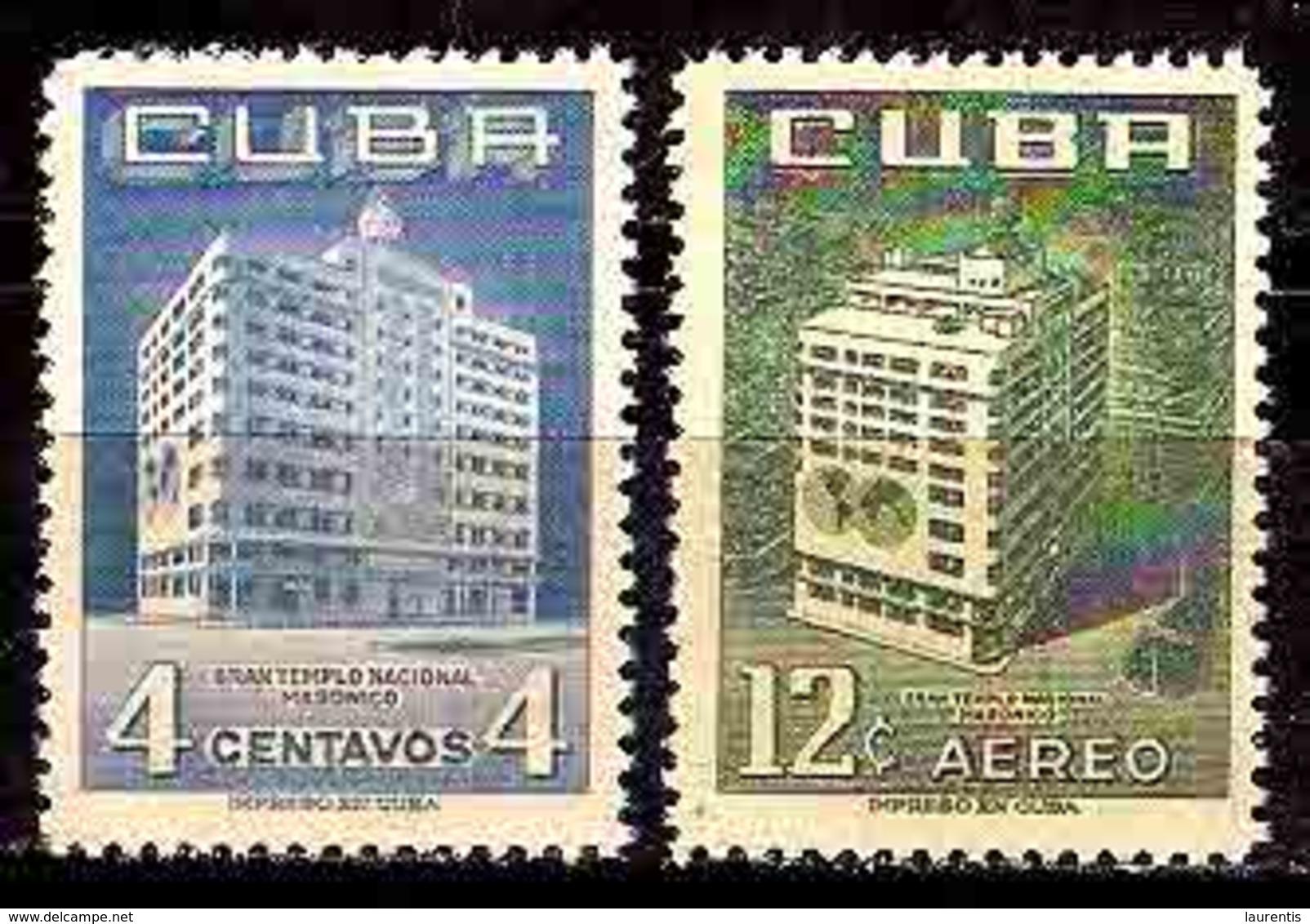 645  Franc-Maconnerie - Yv 440 + A - MNH - Cb -  2,75 - Franc-Maçonnerie