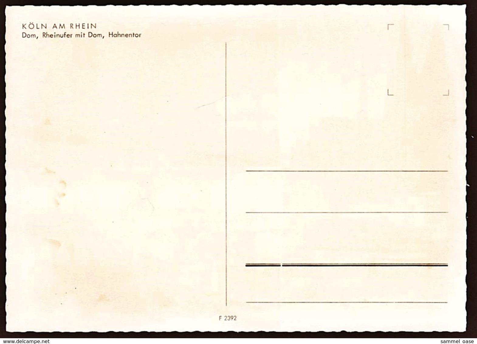 Köln  -  Mehrbild-Ansichtskarte Ca.1975  (10625) - Koeln