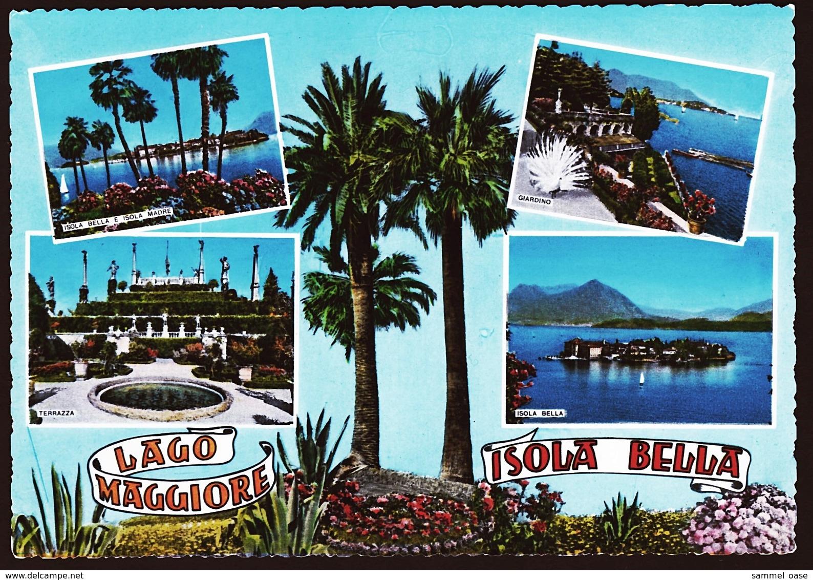 Isola Bella / Lago Maggiore  -  Mehrbild-Ansichtskarte Ca. 1970    (10623) - Autres Villes