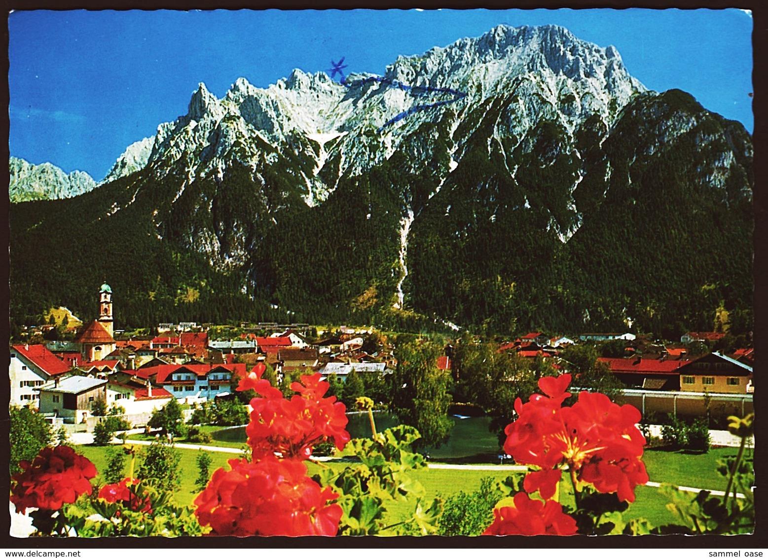 Mittenwald  -  Ansichtskarte Ca.1971    (10621) - Mittenwald
