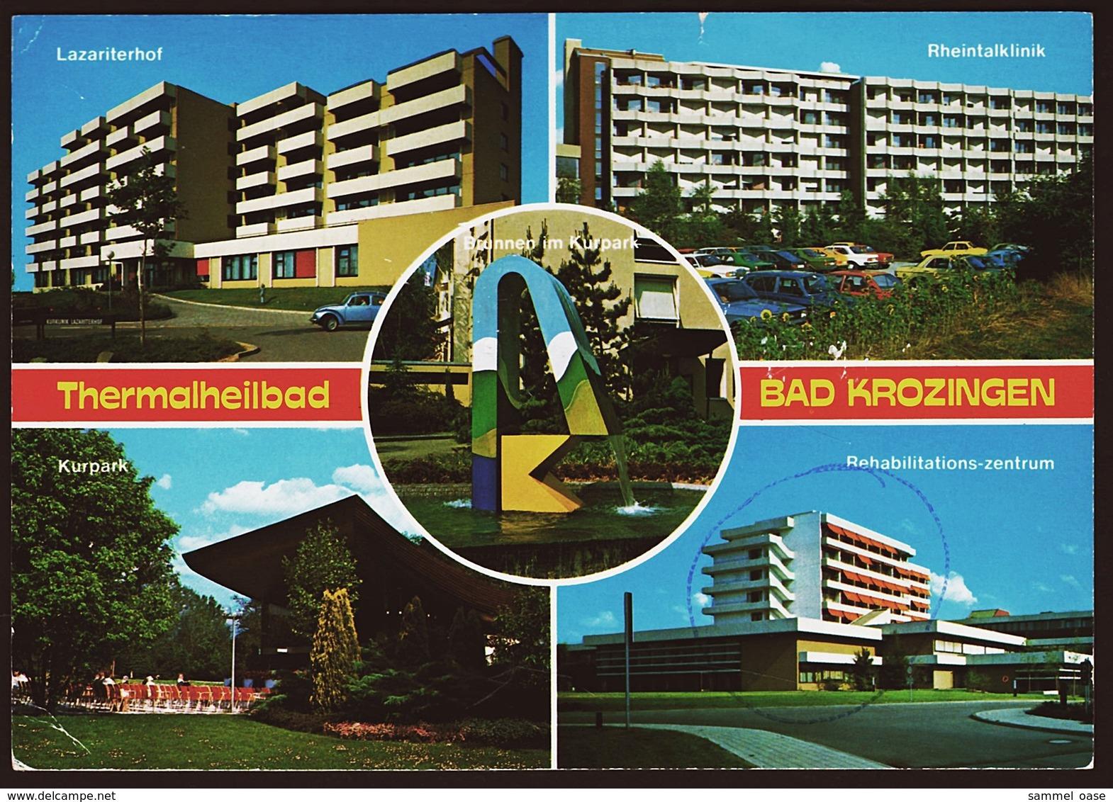 Bad Krozingen  - Thermalkurort Am Schwarzwald  -  Mehrbild-Ansichtskarte Ca. 1983    (10620) - Bad Krozingen