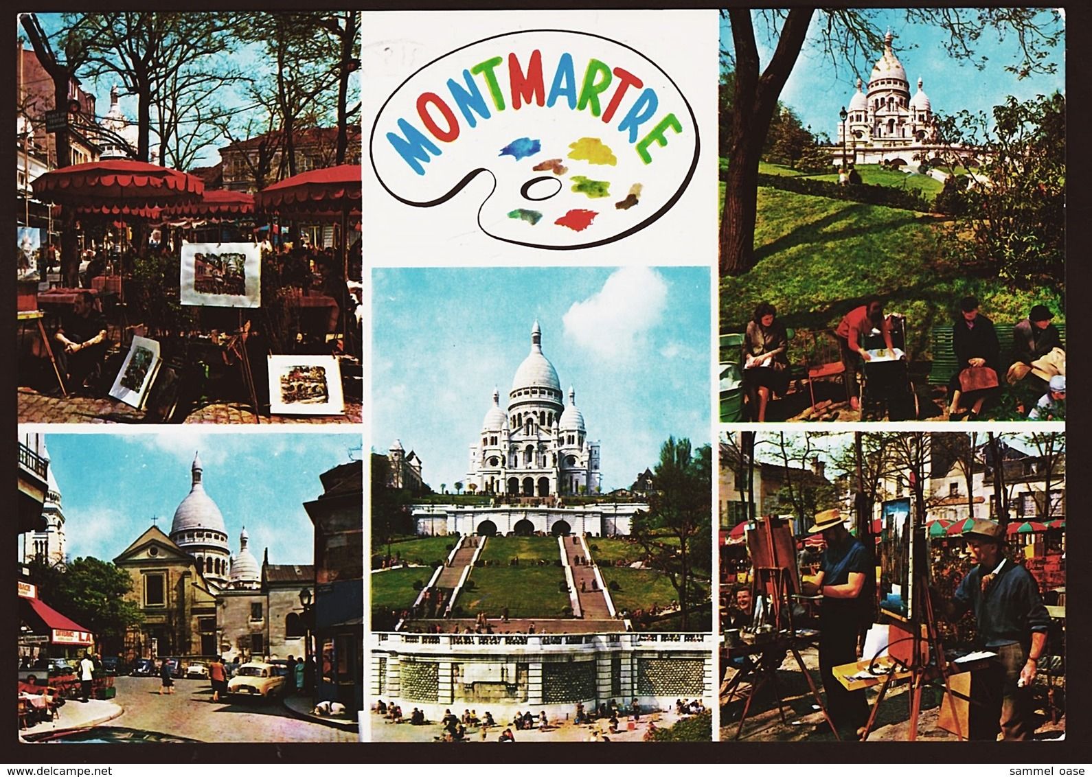 Paris  - Montmartre  -  Ansichtskarte Ca.1980    (10619) - France
