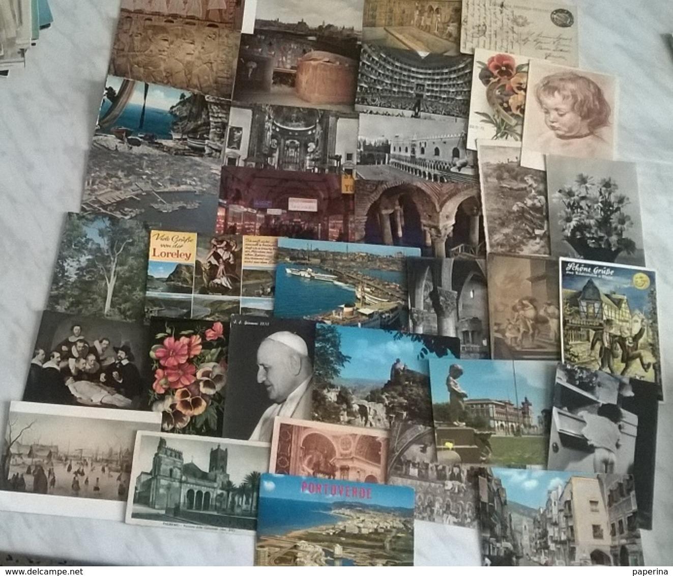 35 CART.  SOGGETTI VARI    (134) - Cartoline