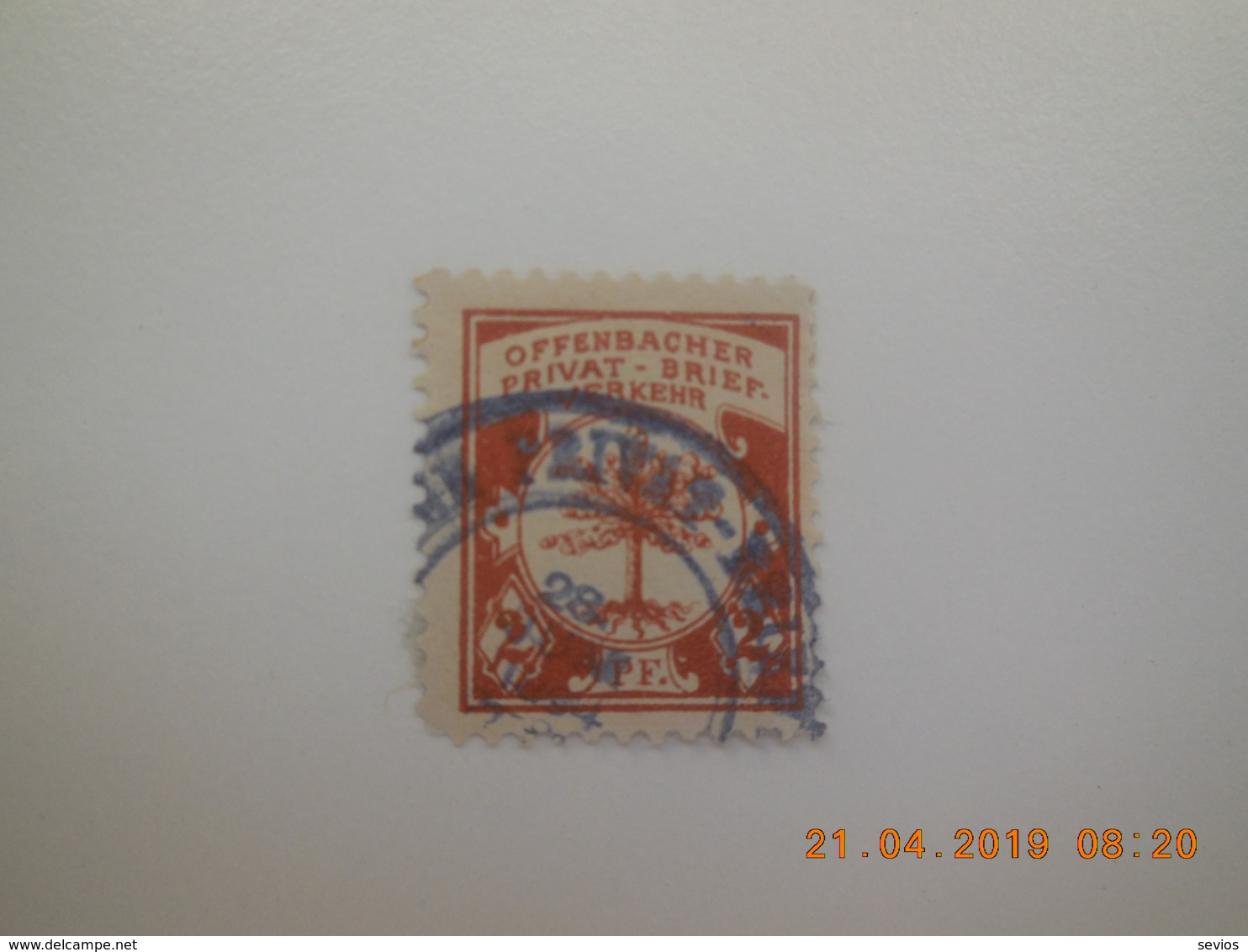 Sevios / Duitsland Private Or Stadtpost / **, *, (*) Or Used - Zonder Classificatie