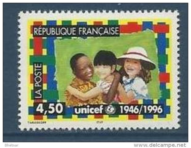 "FR YT 3033 "" UNICEF "" 1996 Neuf** - France"