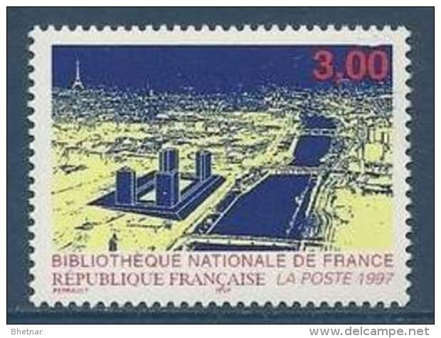 """FR YT 3041 """" Bibliothèque Nationale """" 1996 Neuf** - Neufs"""