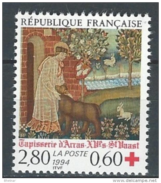 """FR YT 2915 """" Croix-Rouge """" 1994 Neuf** - France"""