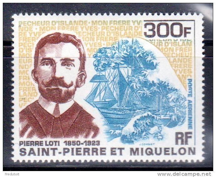 SAINT PIERRE ET MIQUELON -  P.A  N° 47 ** (1969) P.LOTI - Poste Aérienne