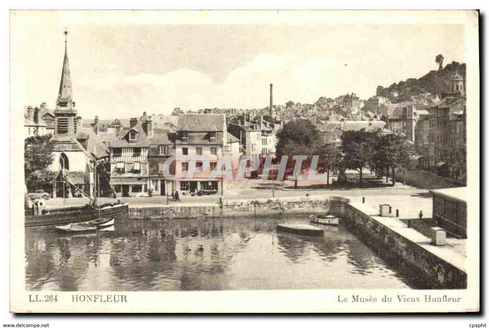 CPA Honfleur Le Musee Du Vieux - Honfleur