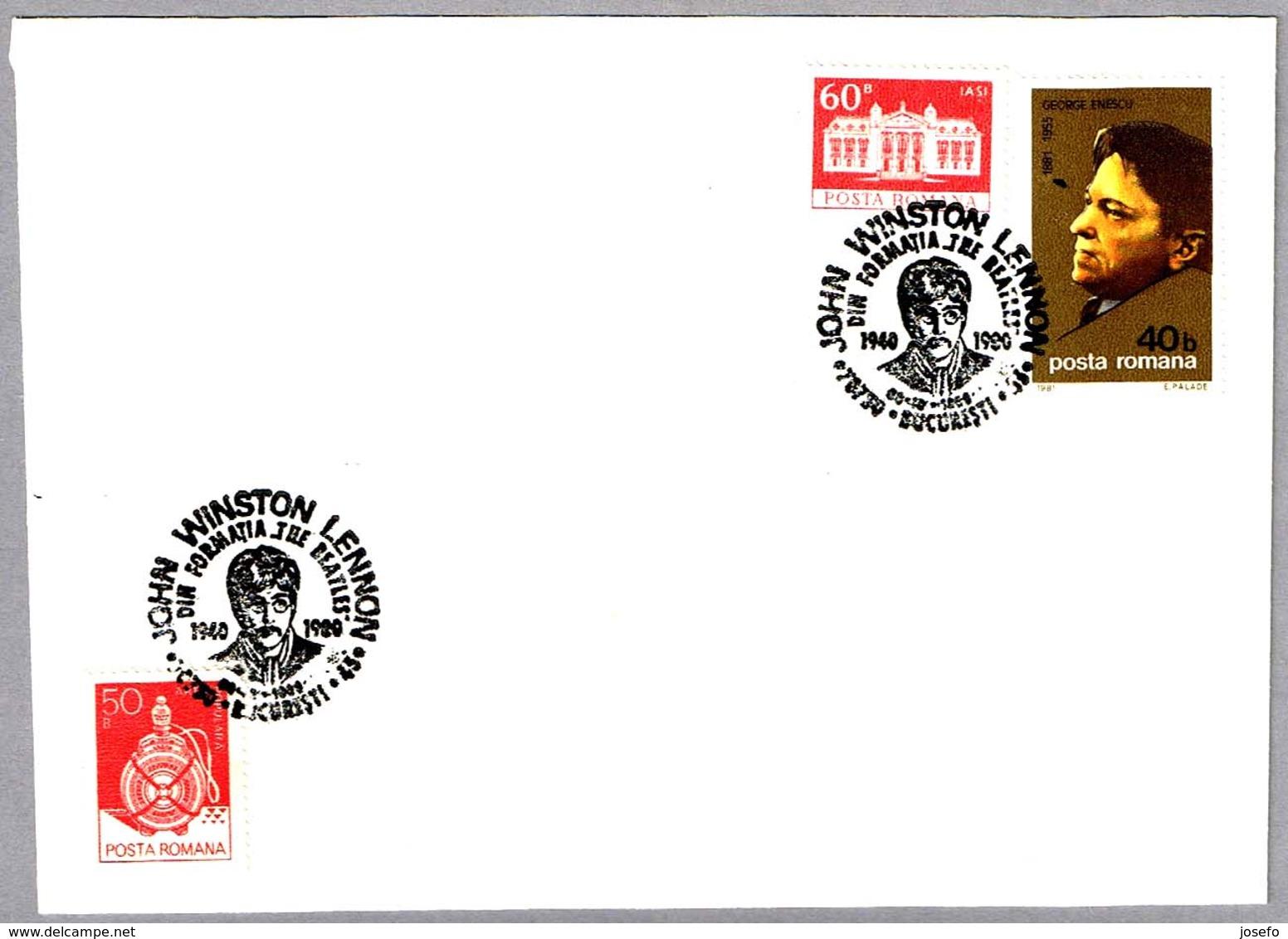 JOHN LENNON - The Beatles. Bucuresti 1990 - Cantantes
