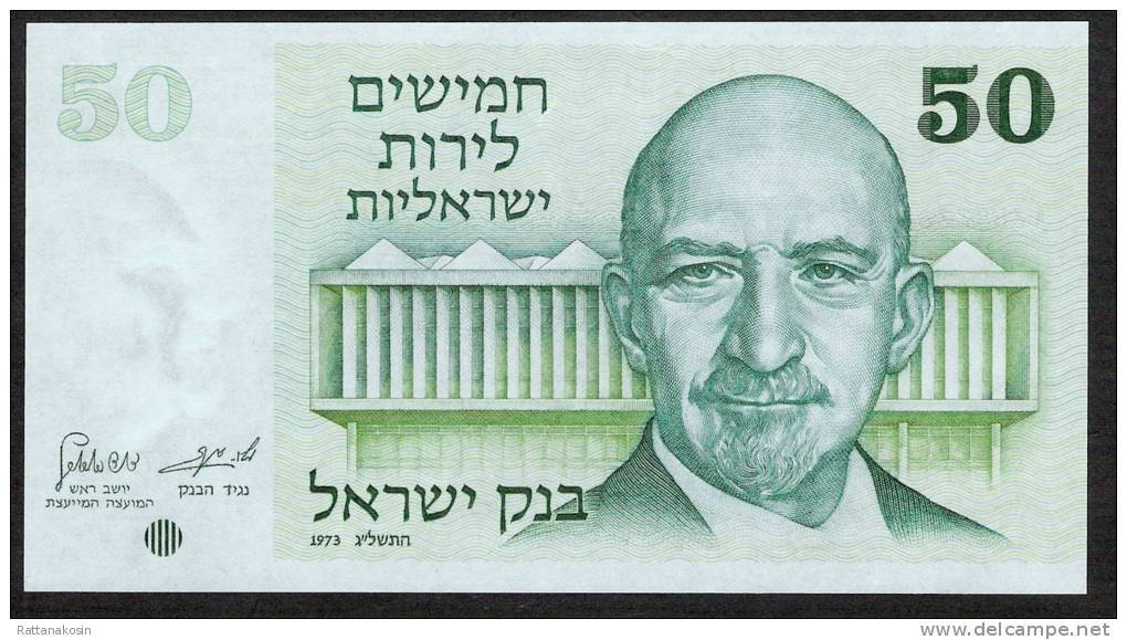 ISRAEL  P40   50  LIROT   1973   UNC. - Israël