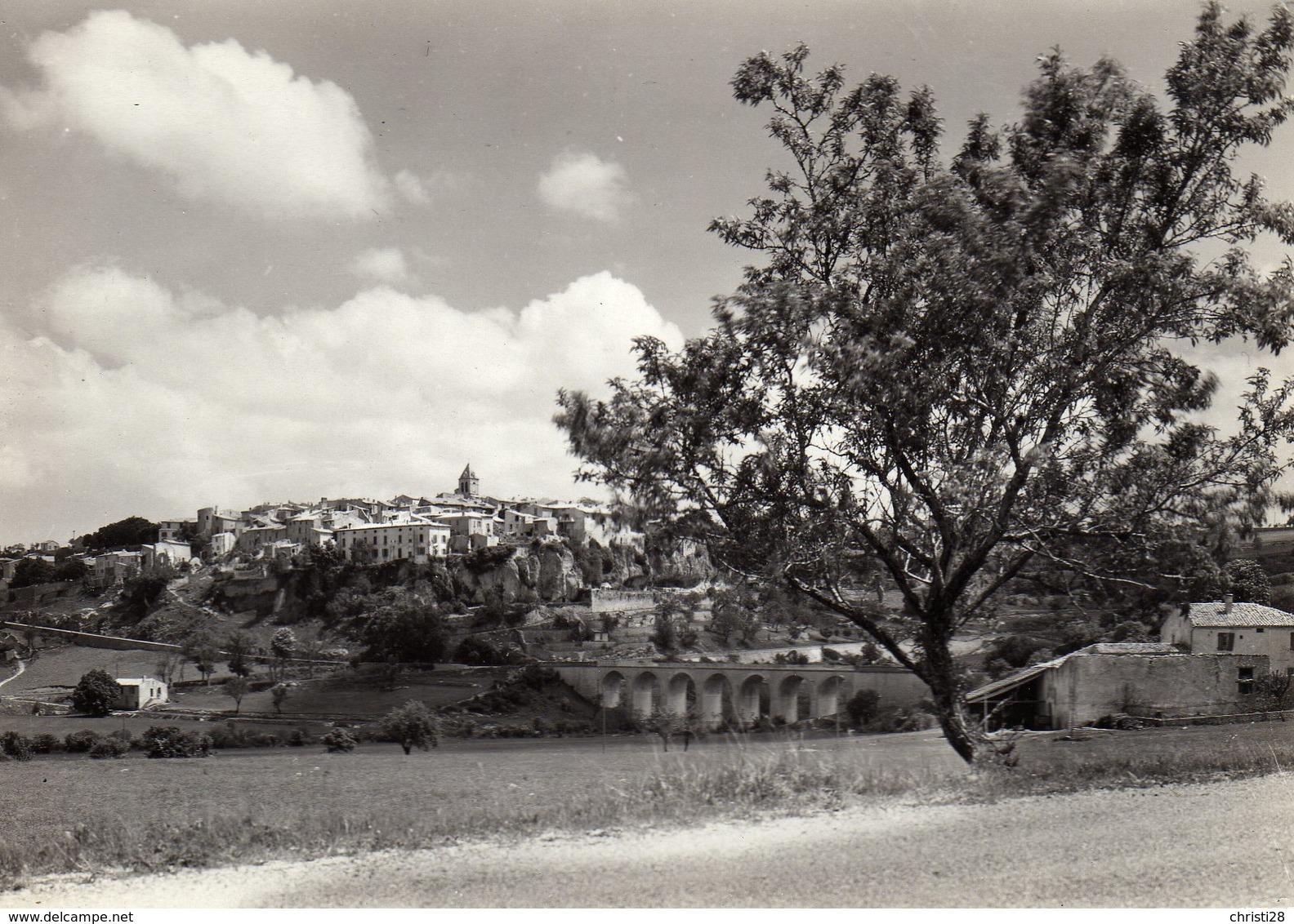DPT 84 SAULT Vue Générale Et Le Pont Sur La Croc - Autres Communes