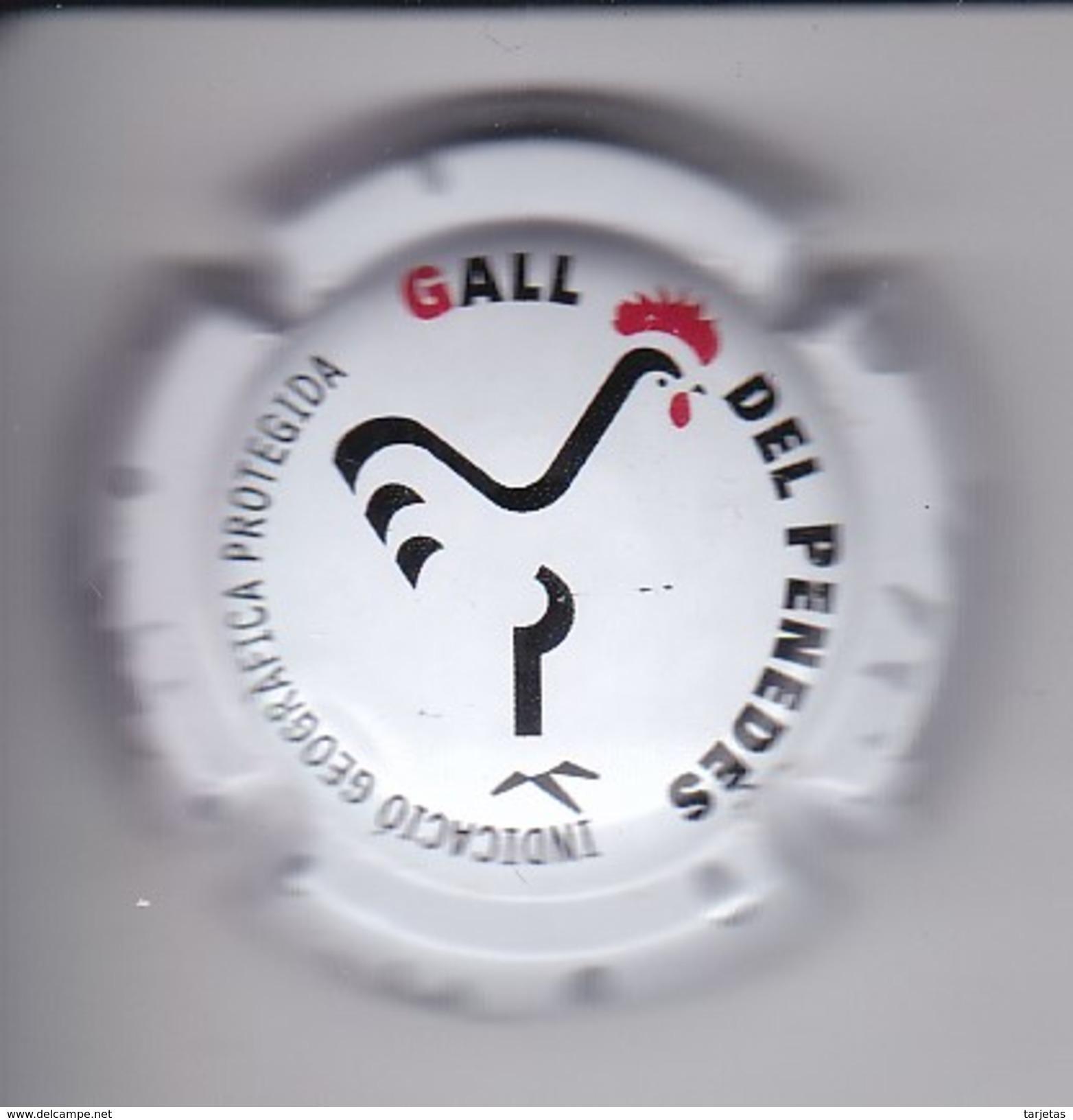 PLACA DE CAVA DE LA FIRA DEL GALL  (CAPSULE) COQ- GALLO - Placas De Cava