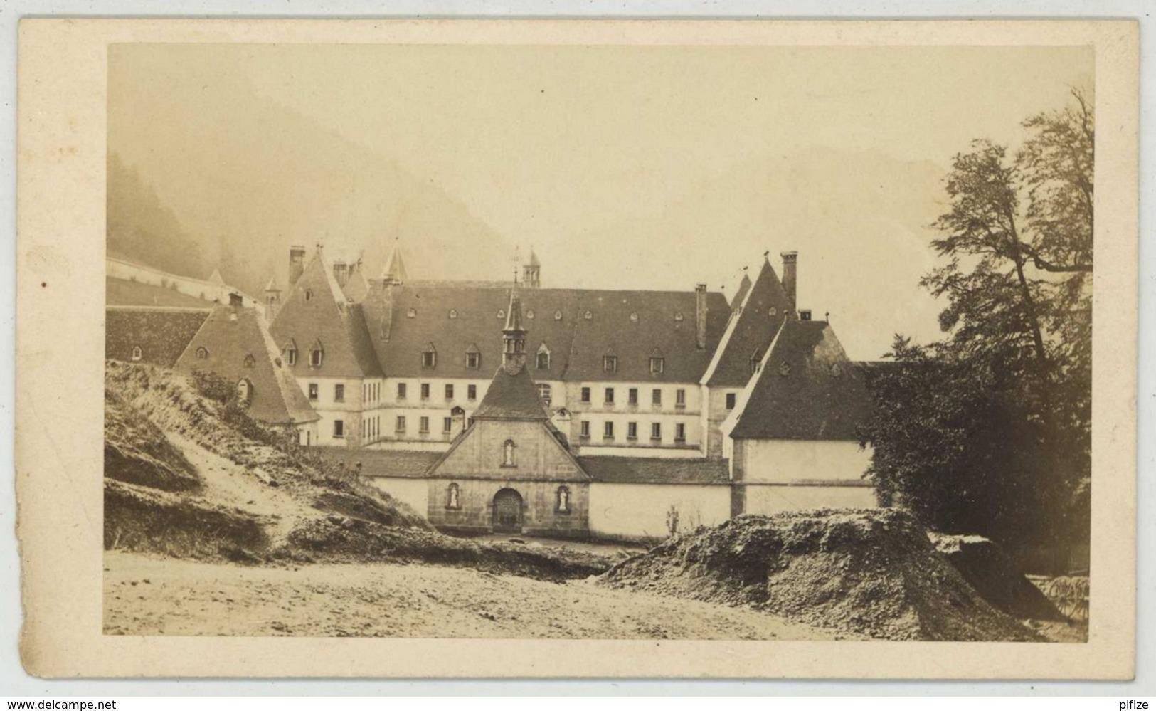 CDV 1860-70 Alphonse Davanne . La Grande Chartreuse . - Anciennes (Av. 1900)