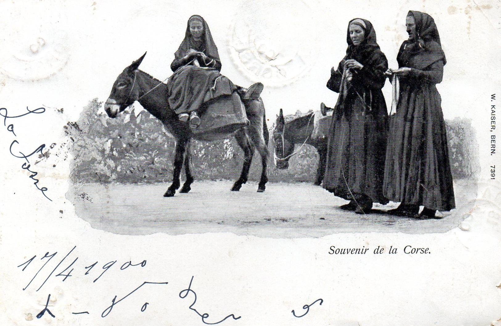 Souvenir De La Corse 1900 - Non Classés