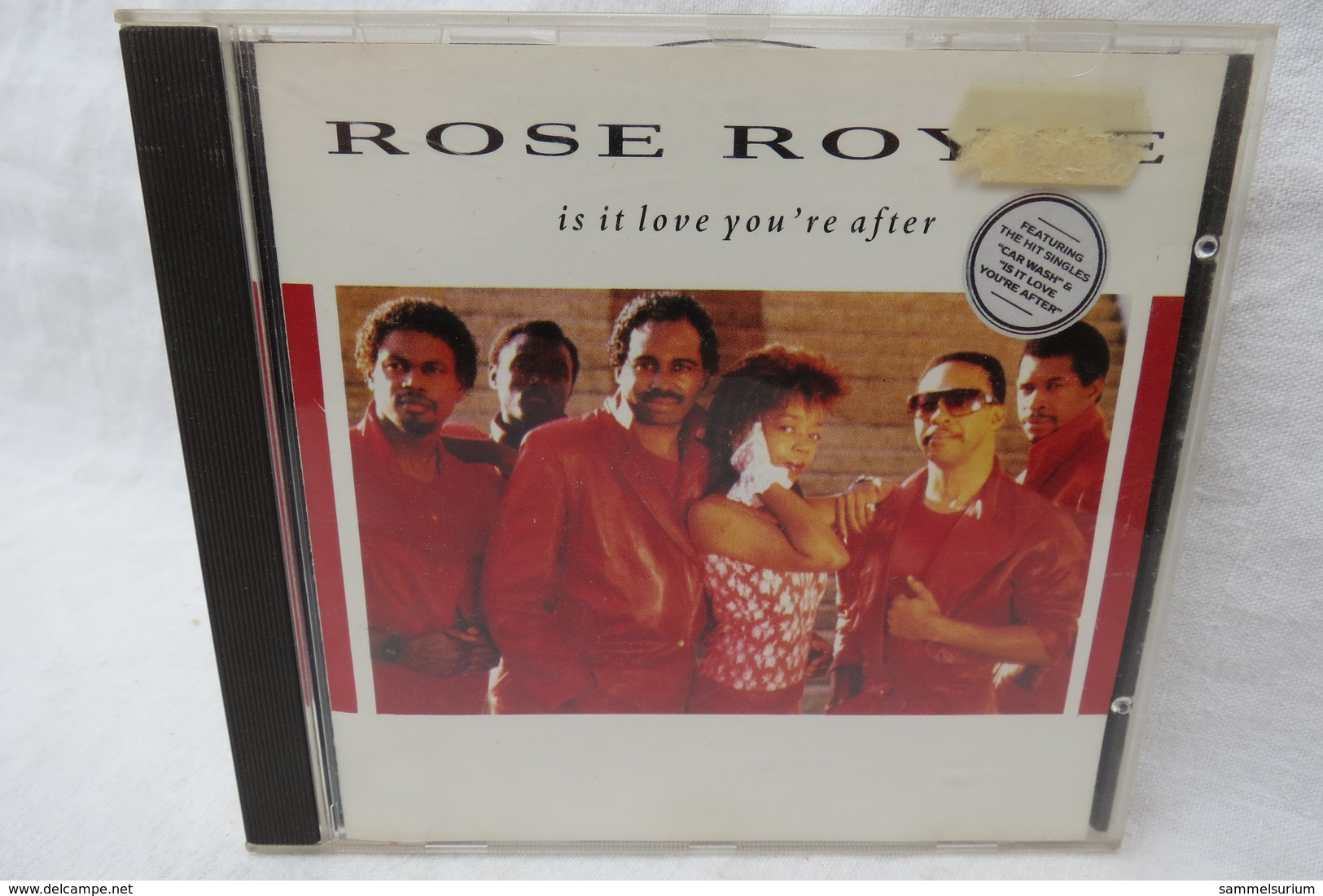 """CD """"Rose Royce"""" Is It Love You're After - Filmmusik"""
