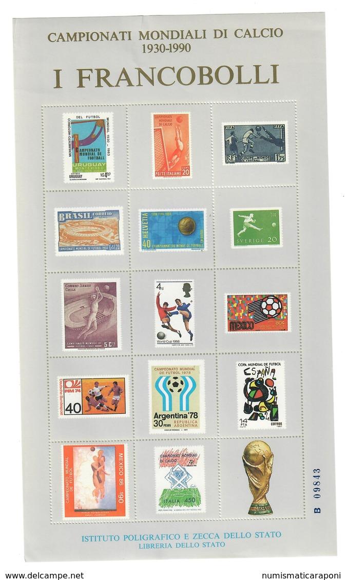 Erinnofilo Campionati Mondiali Di Calcio 1930 1990 Nuovo Lievi Pieghe Cod.fra.1190 - 1981-90: Oblitérés