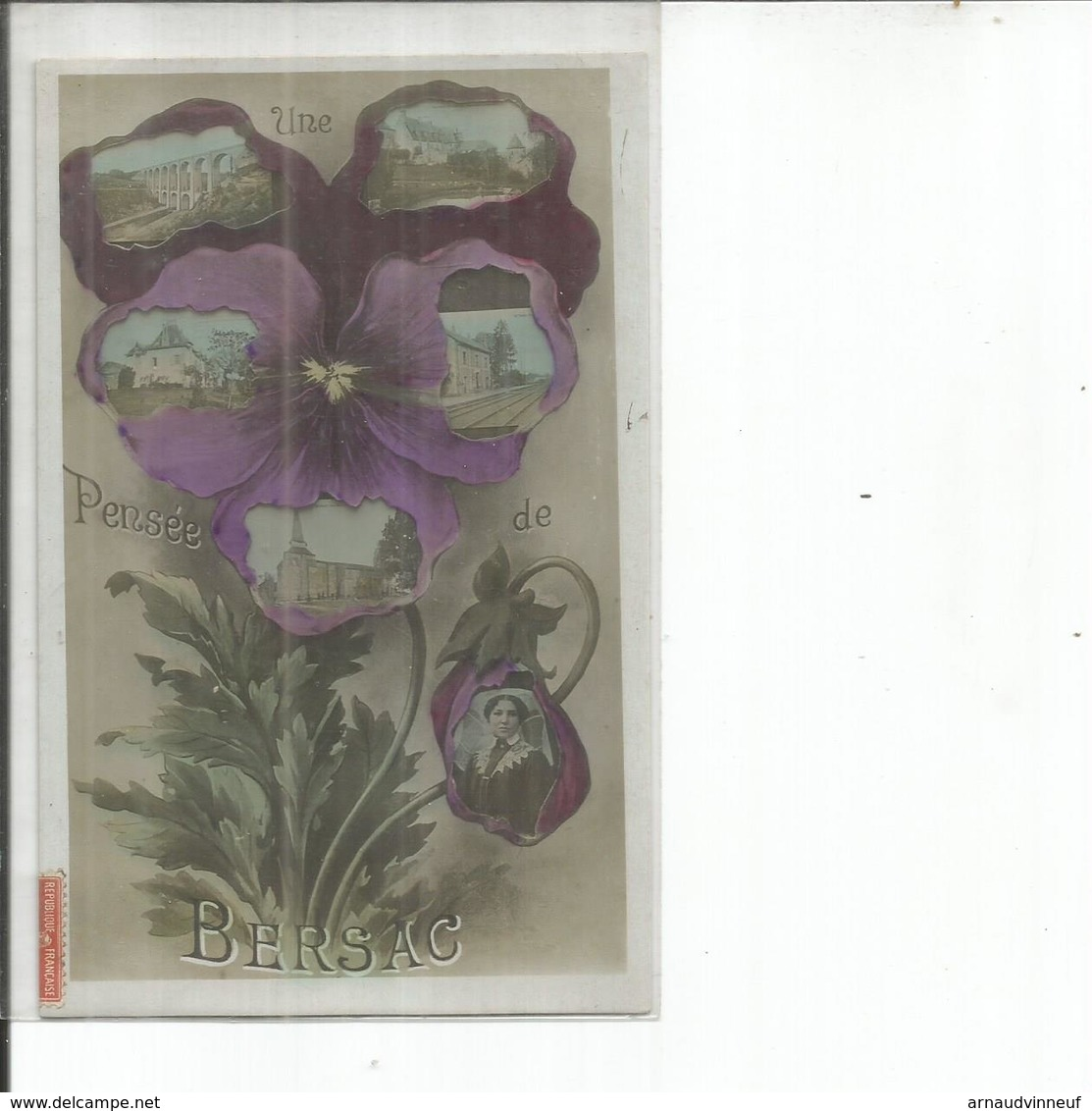 86-BERSAC UNE PENSEE DE BERSAC - France