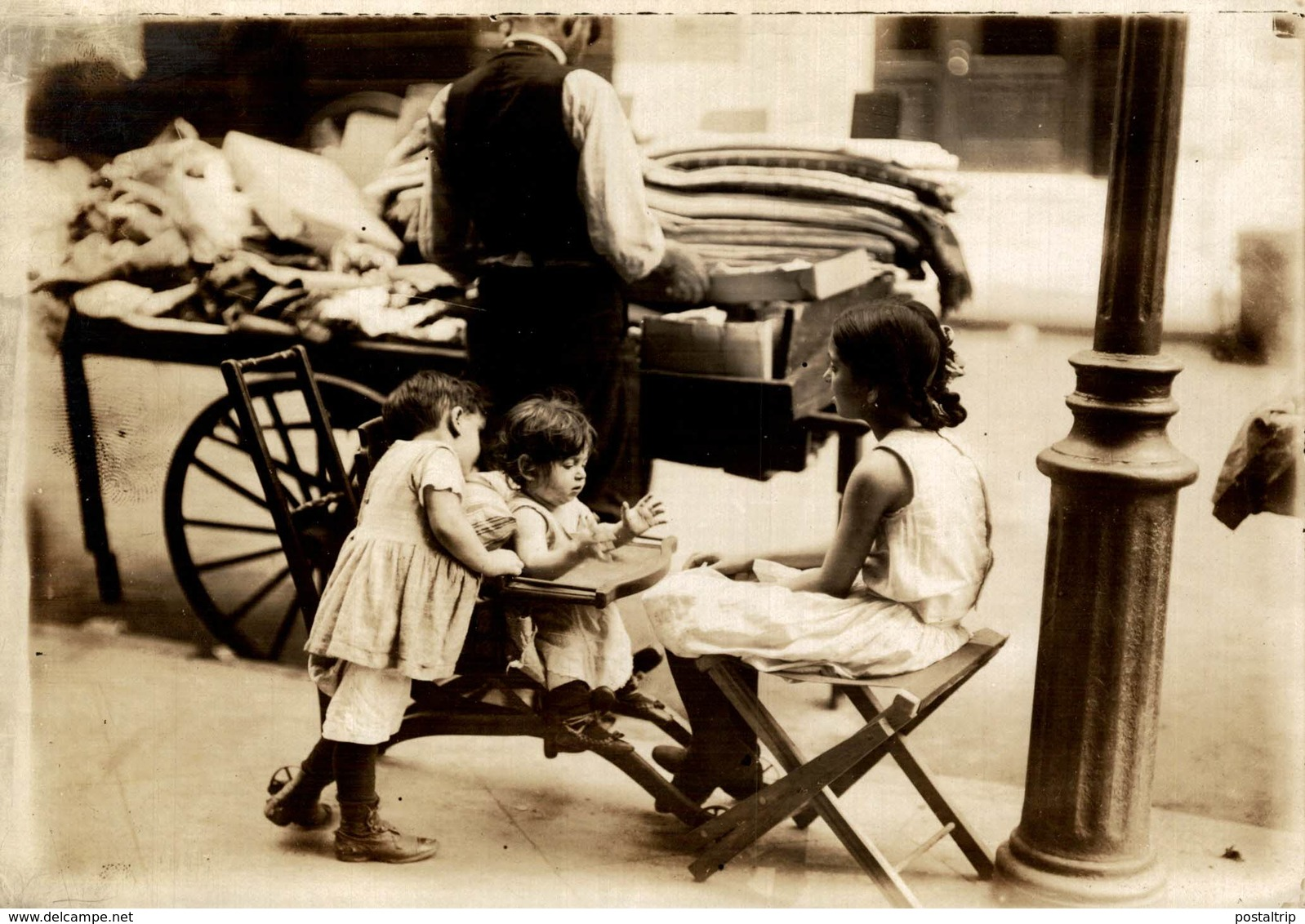 CHILDREN OF THE EAST SIDE  PARICE FRANCE  NIÑOS KIDS   Fonds Victor FORBIN (1864-1947) - Lugares