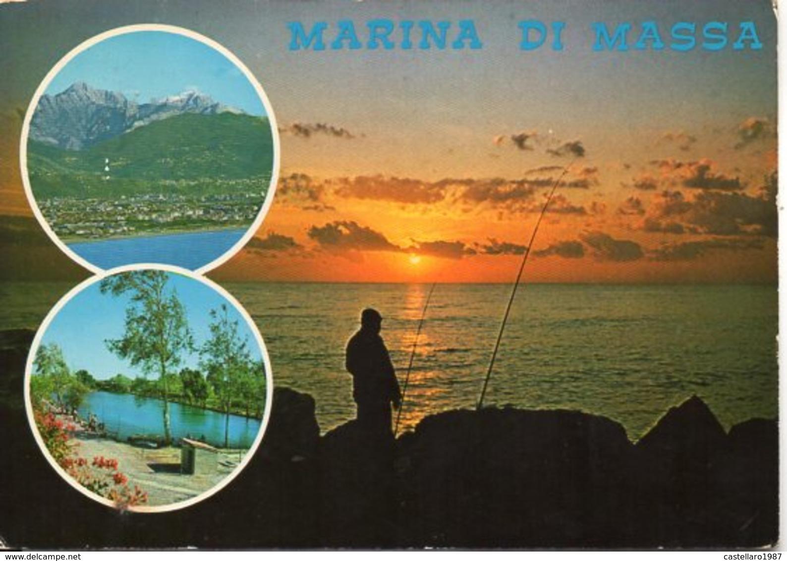 MARINA DI MASSA - Veduta Aerea - Lago Tornaboni - Vedute - Massa