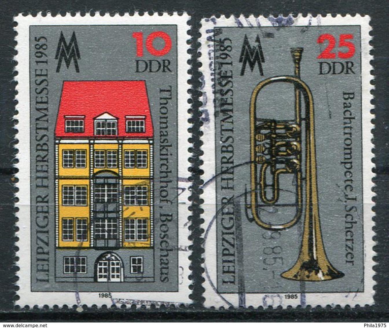 DDR Michel-Nr. 2963-2964 Gestempelt - DDR