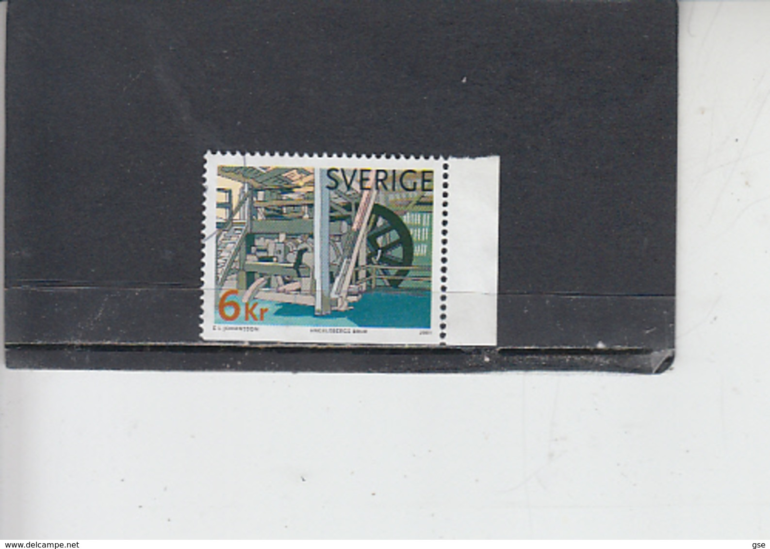 SVEZIA  2001 - Unificato  2201  -  UNESCO - Svezia