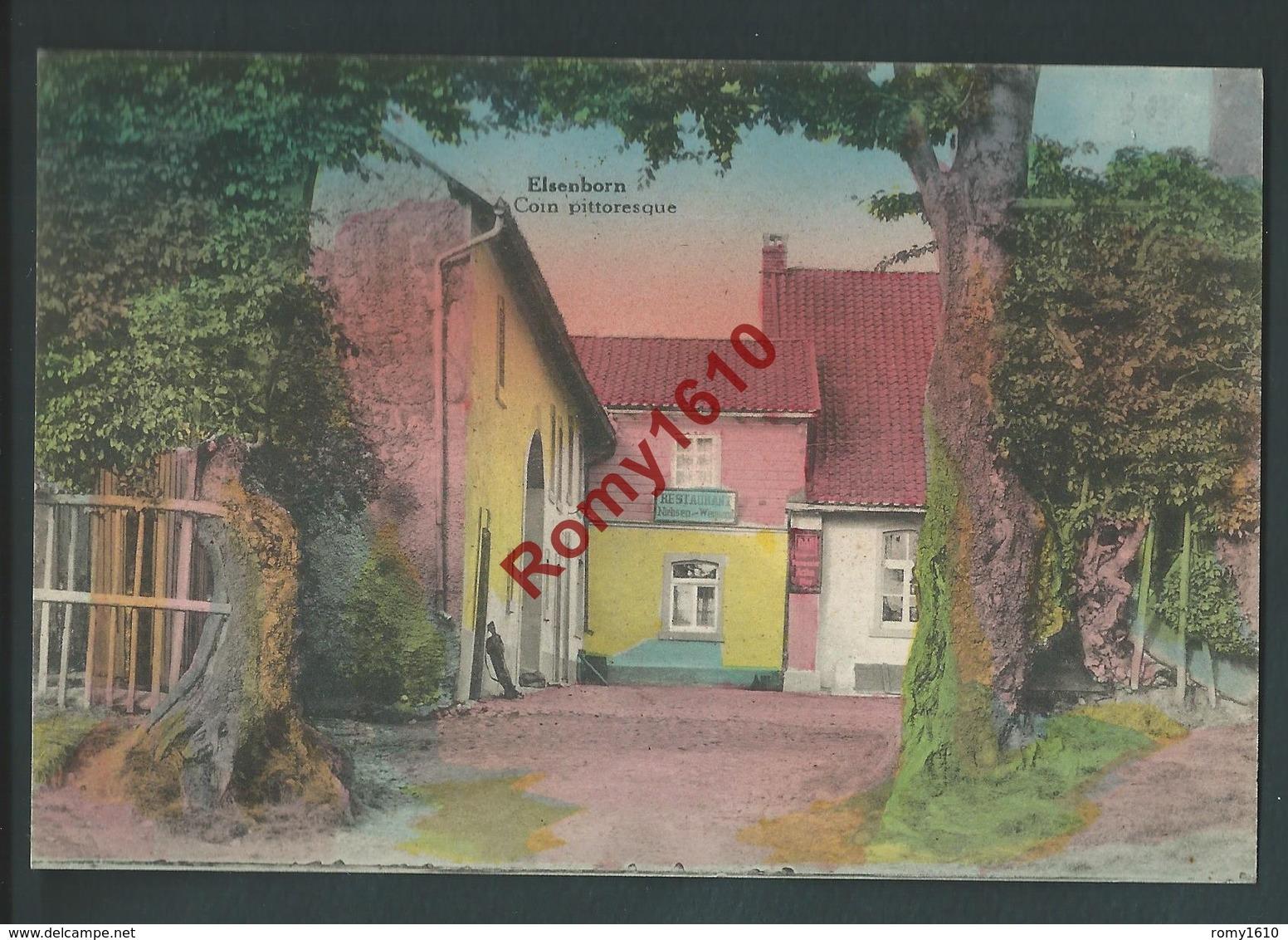 Elsenborn - Coin Pittoresque. Colorisée - Elsenborn (camp)