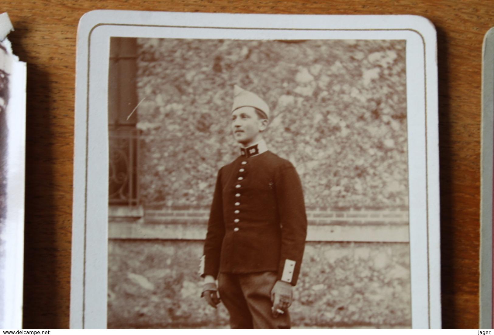 3 Photos Du Même Dragon  Differentes Tenues  Vers 1914 - Guerra, Militares