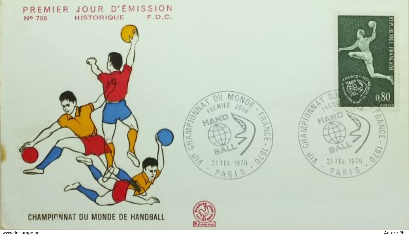 Handball Championnat Du Monde Paris 1970 - Hand-Ball