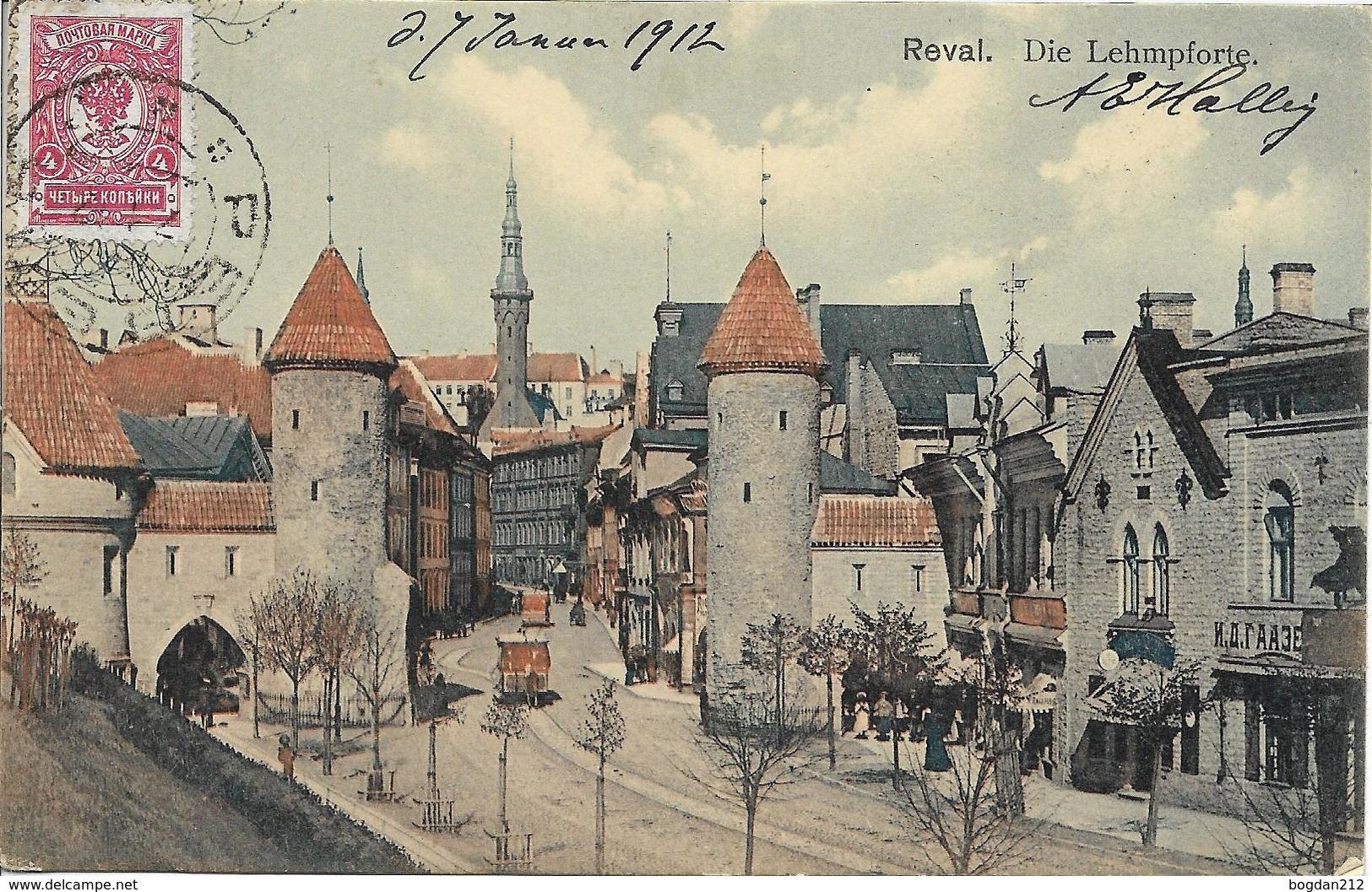 1912 - TALLINN   Reval , Gute Zustand, 2 Scan - Estonia