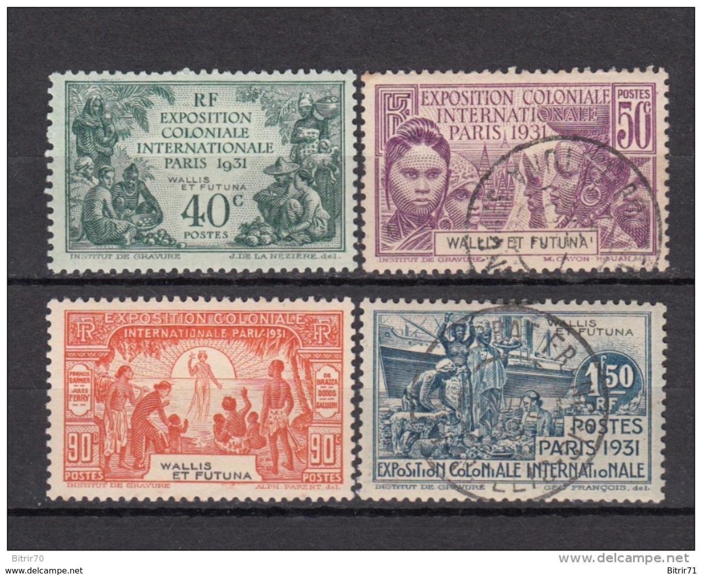 1931     YVERT  Nº 66 / 69 - Usados